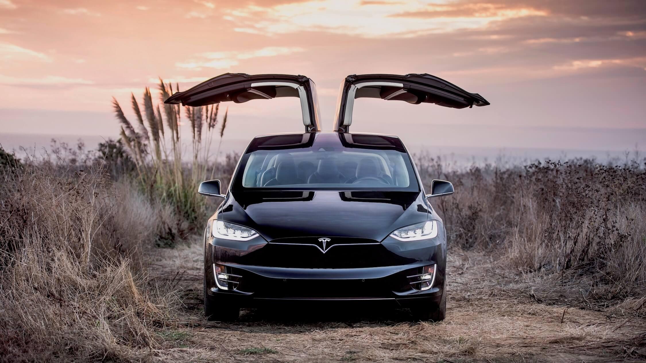 Tesla Model X vleugeldeuren