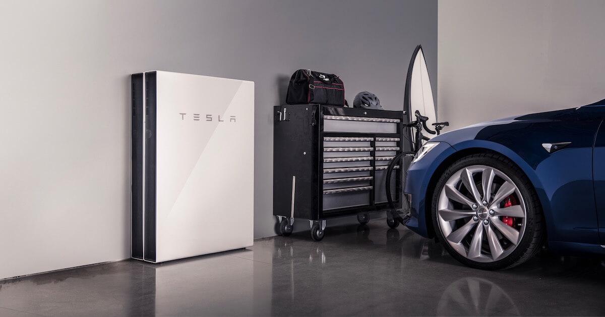 Tesla Powerwall thuisbatterij