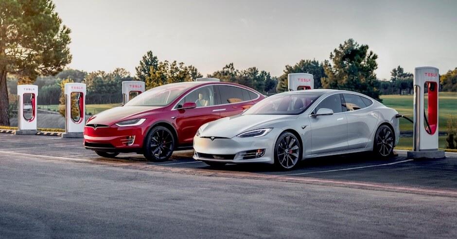 Tesla Supercharger locatie
