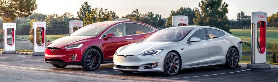 Tesla laadpalen