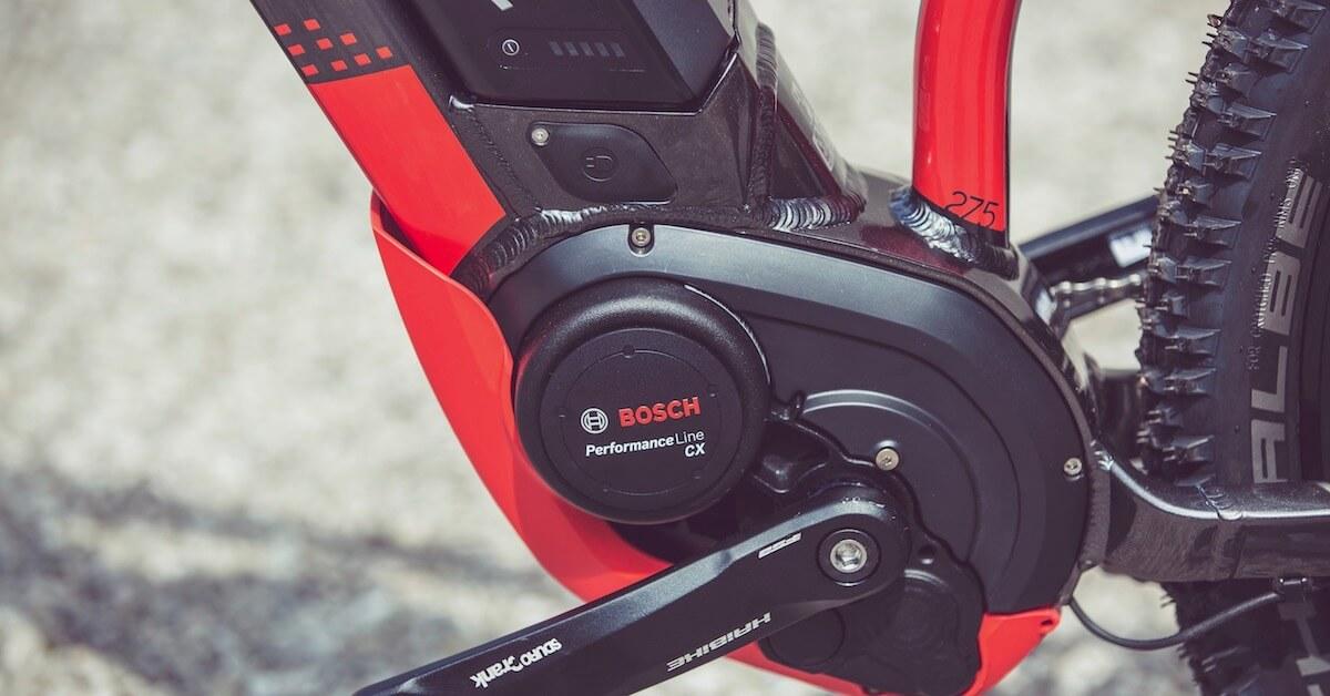 Bosch motor elektrische fiets