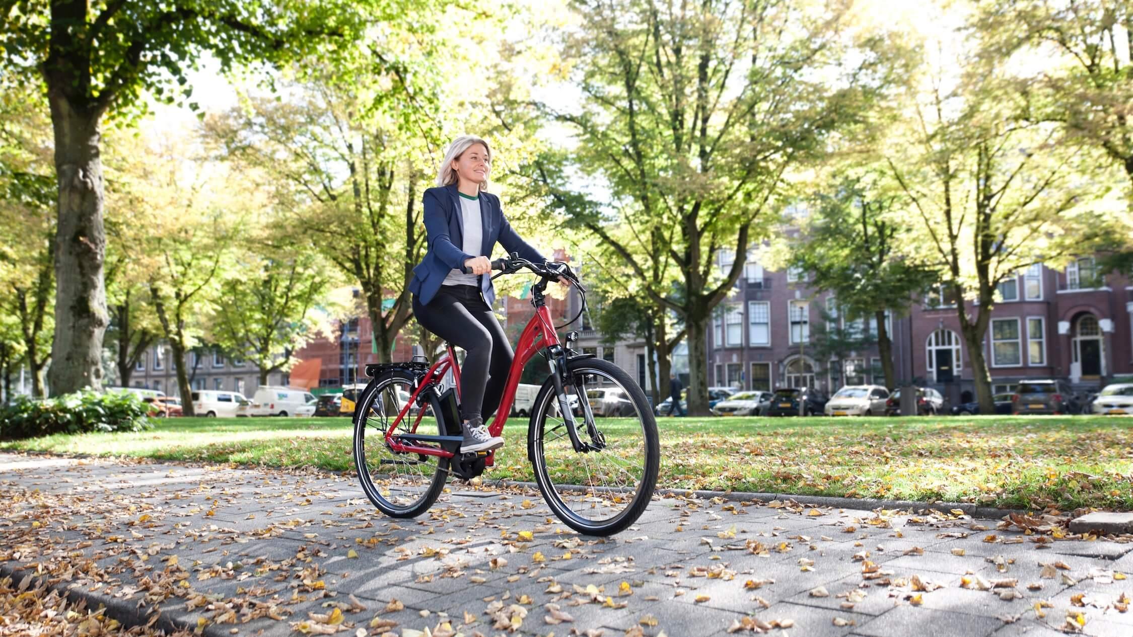 elektrische fiets foto