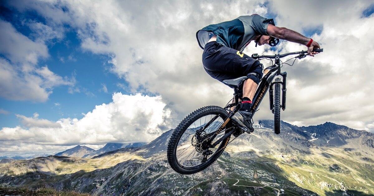 elektrische mountainbike lucht