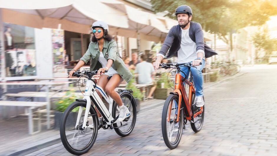 helm elektrische fietsen