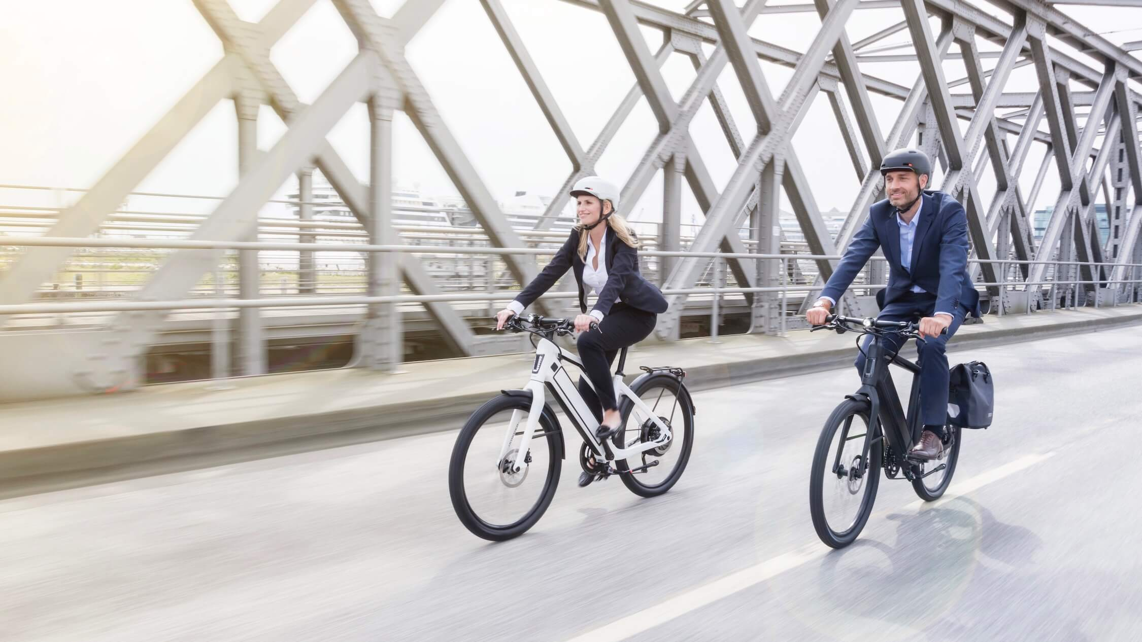snelle elektrische fietsen foto