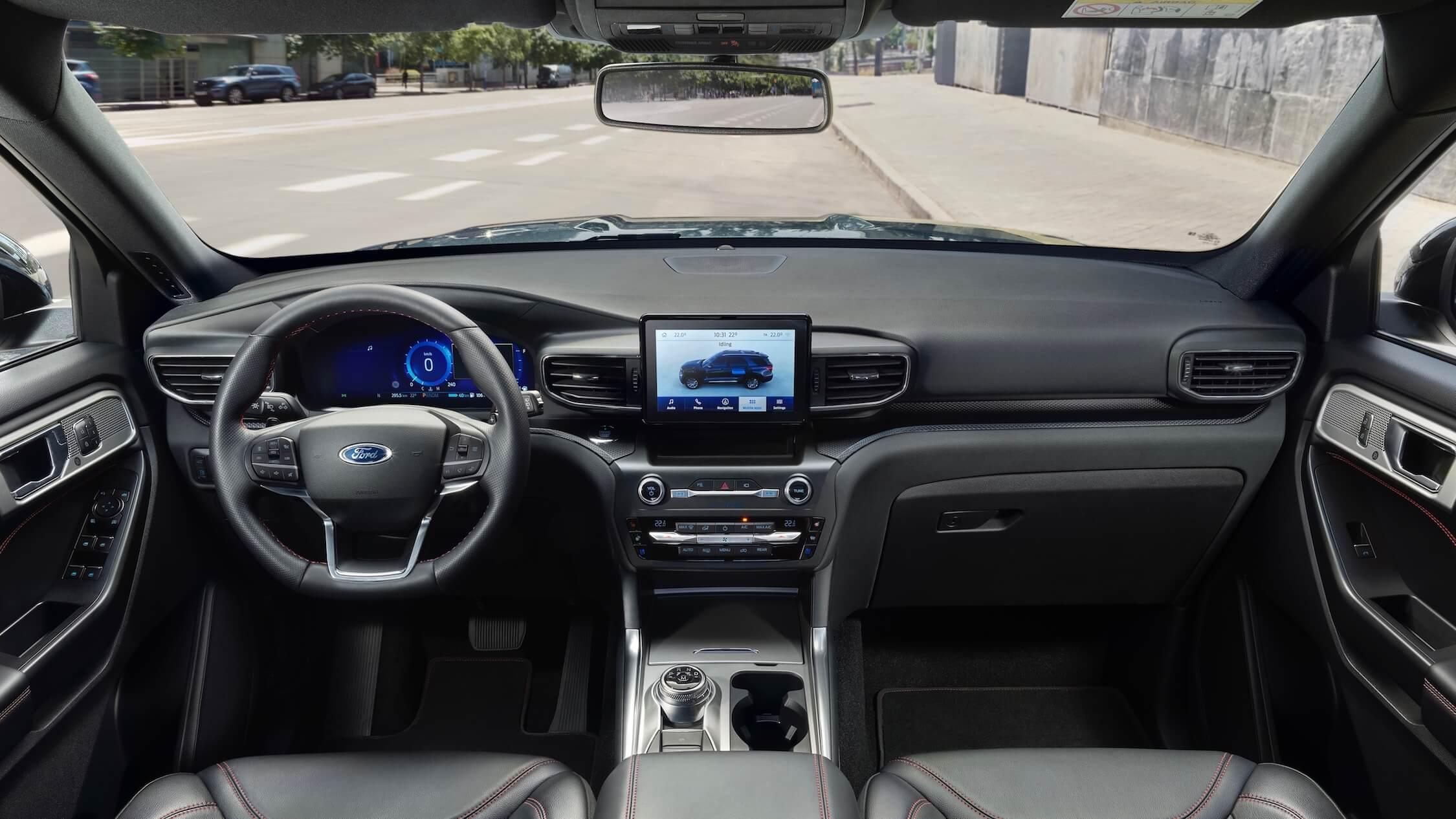 2020 Ford Explorer stuur