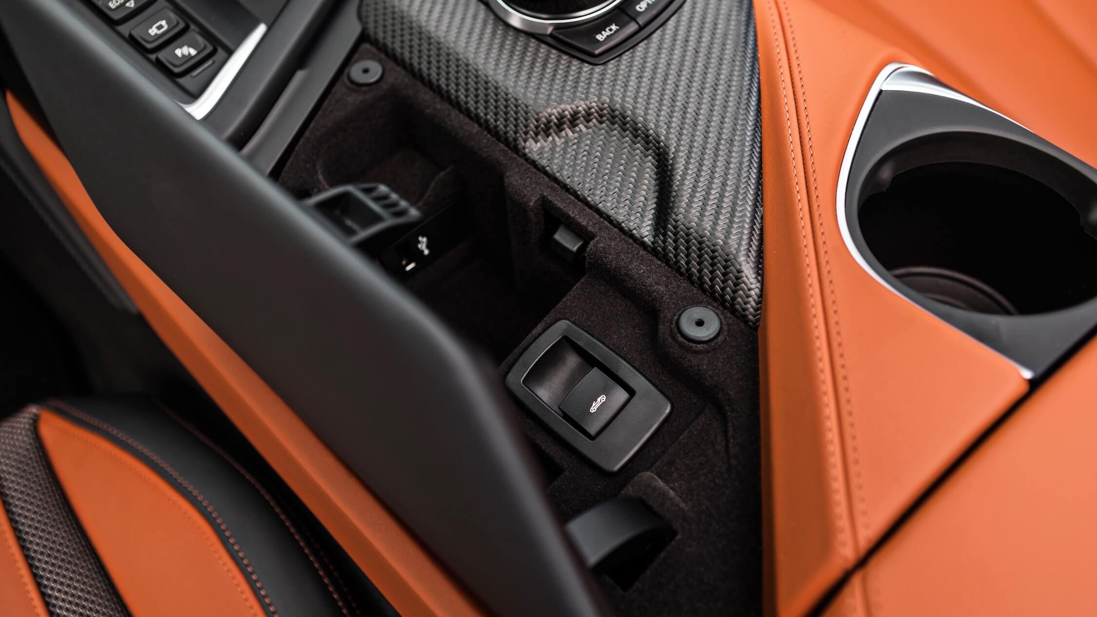 BMW i8 cabrio systeem