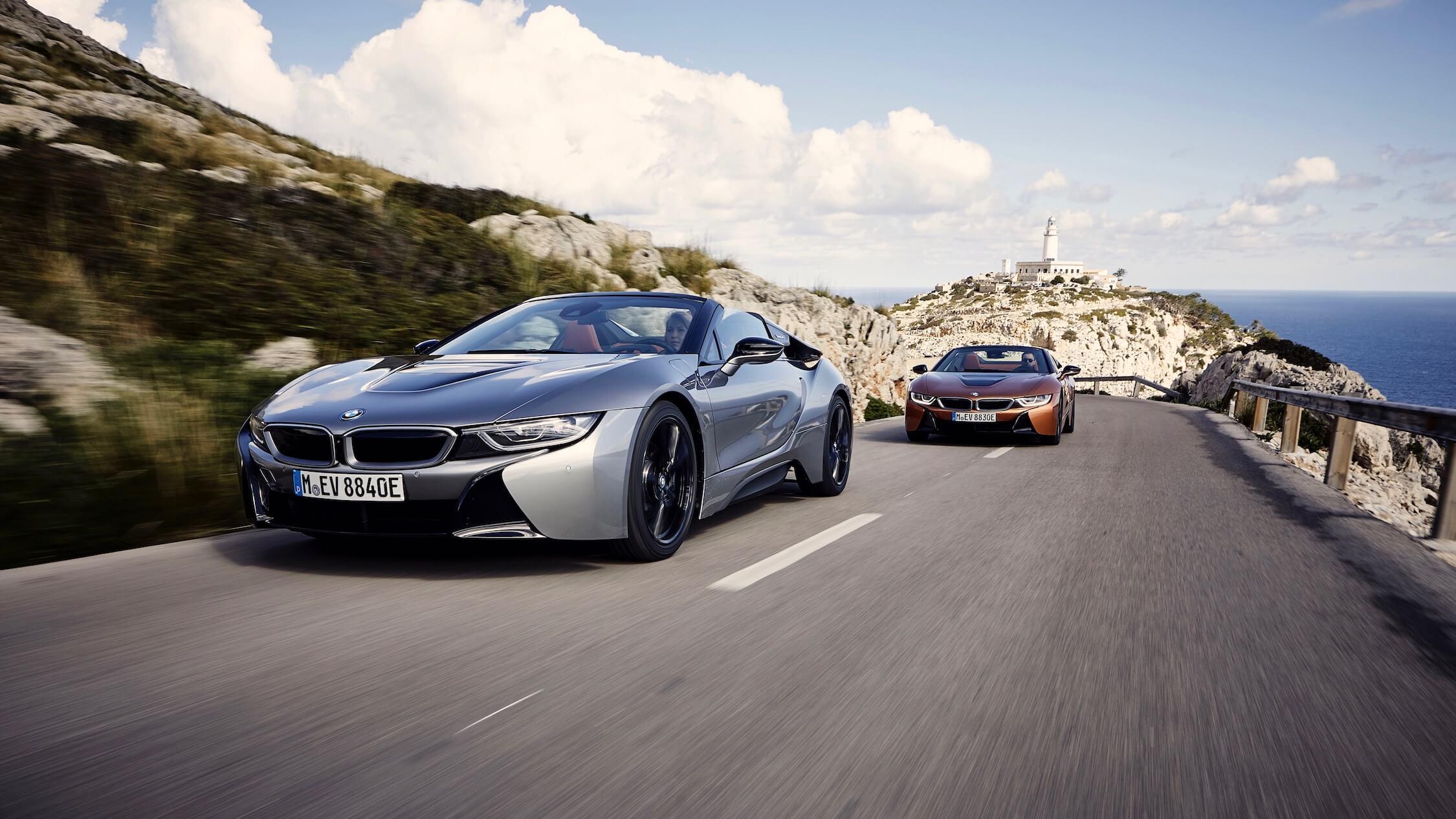 BMW i8 hybride