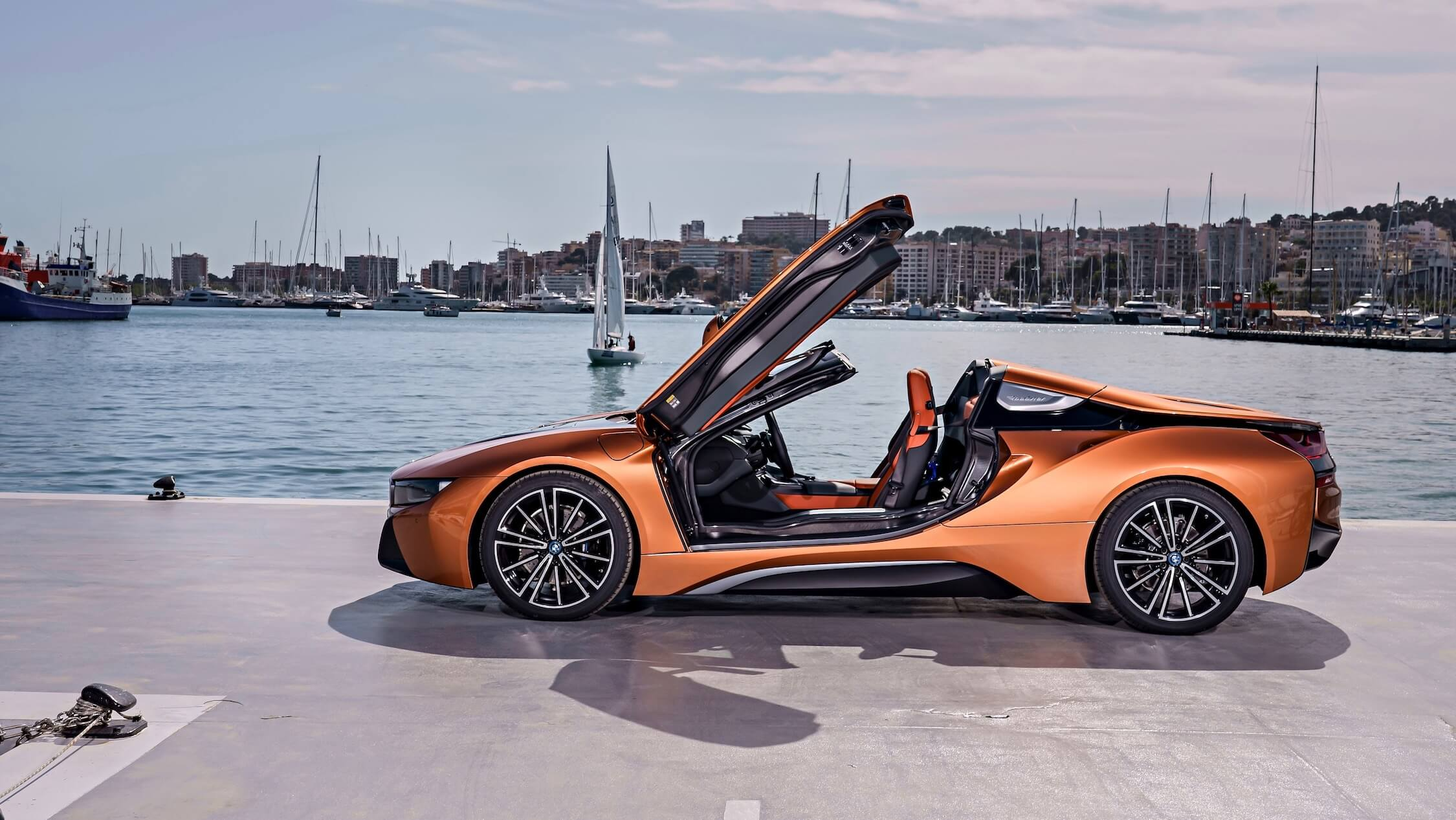 BMW i8 vleugeldeuren