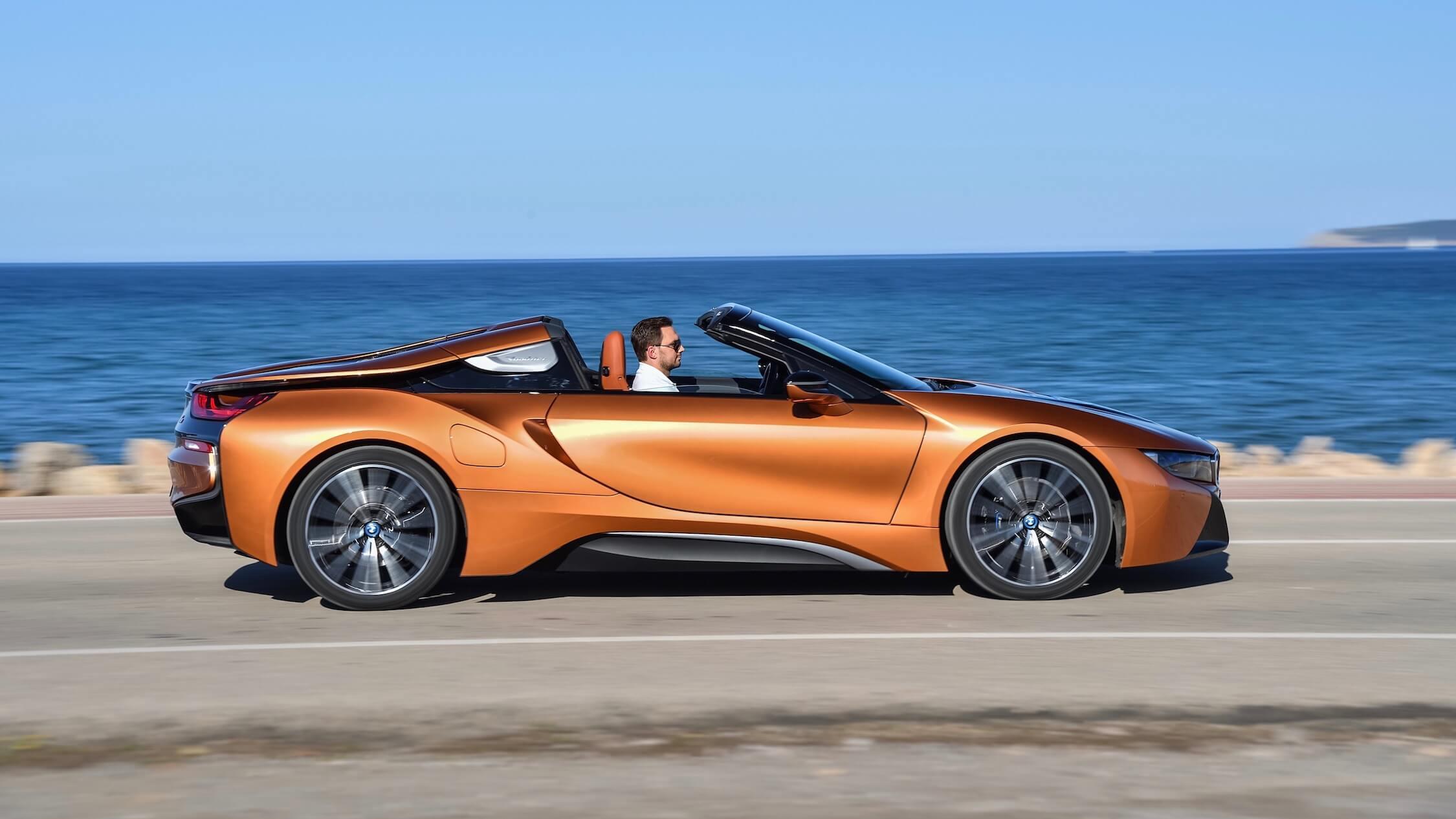 BMW i8 zijkant