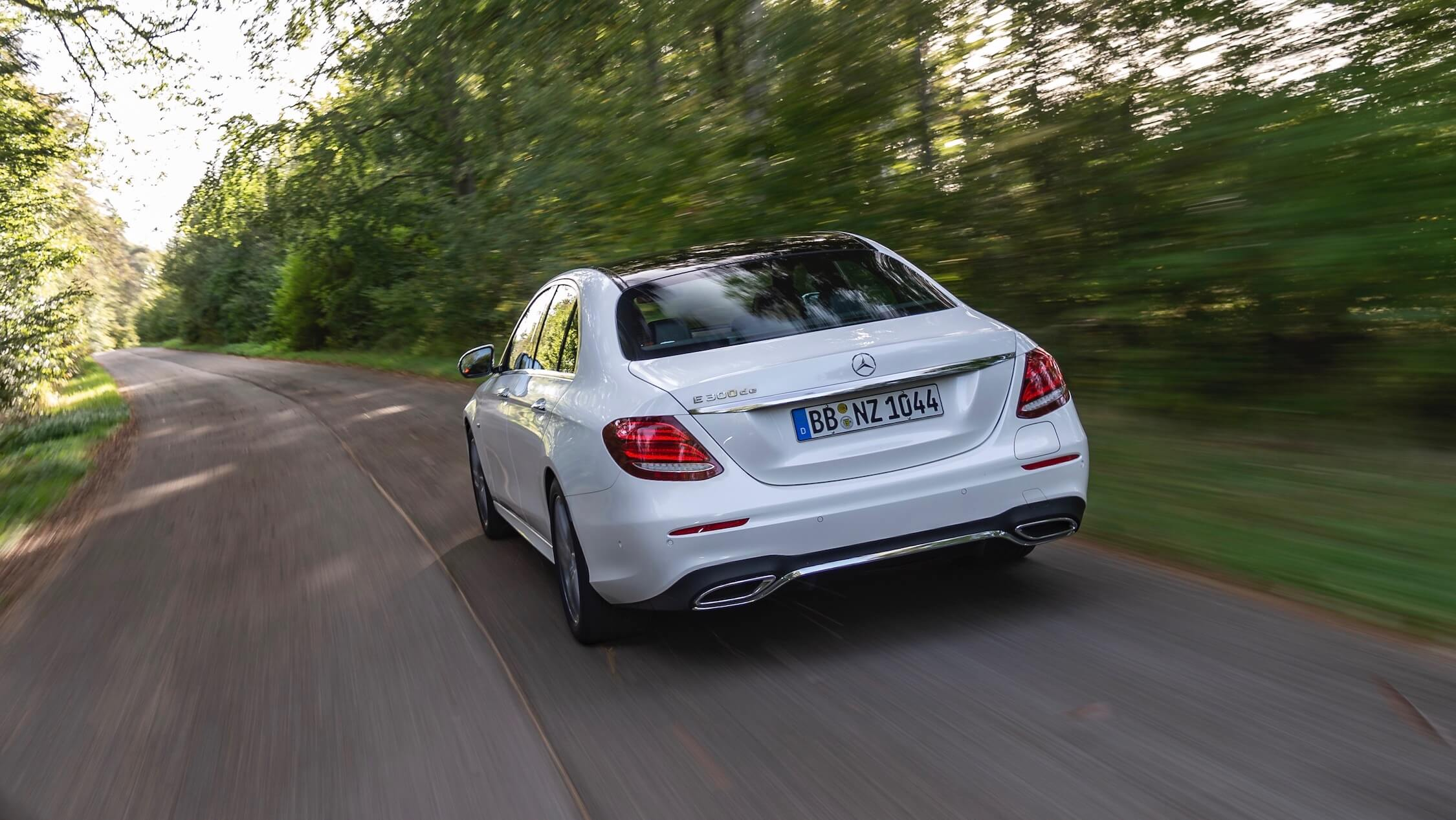 Diesel Hybrid Mercedes E-Class