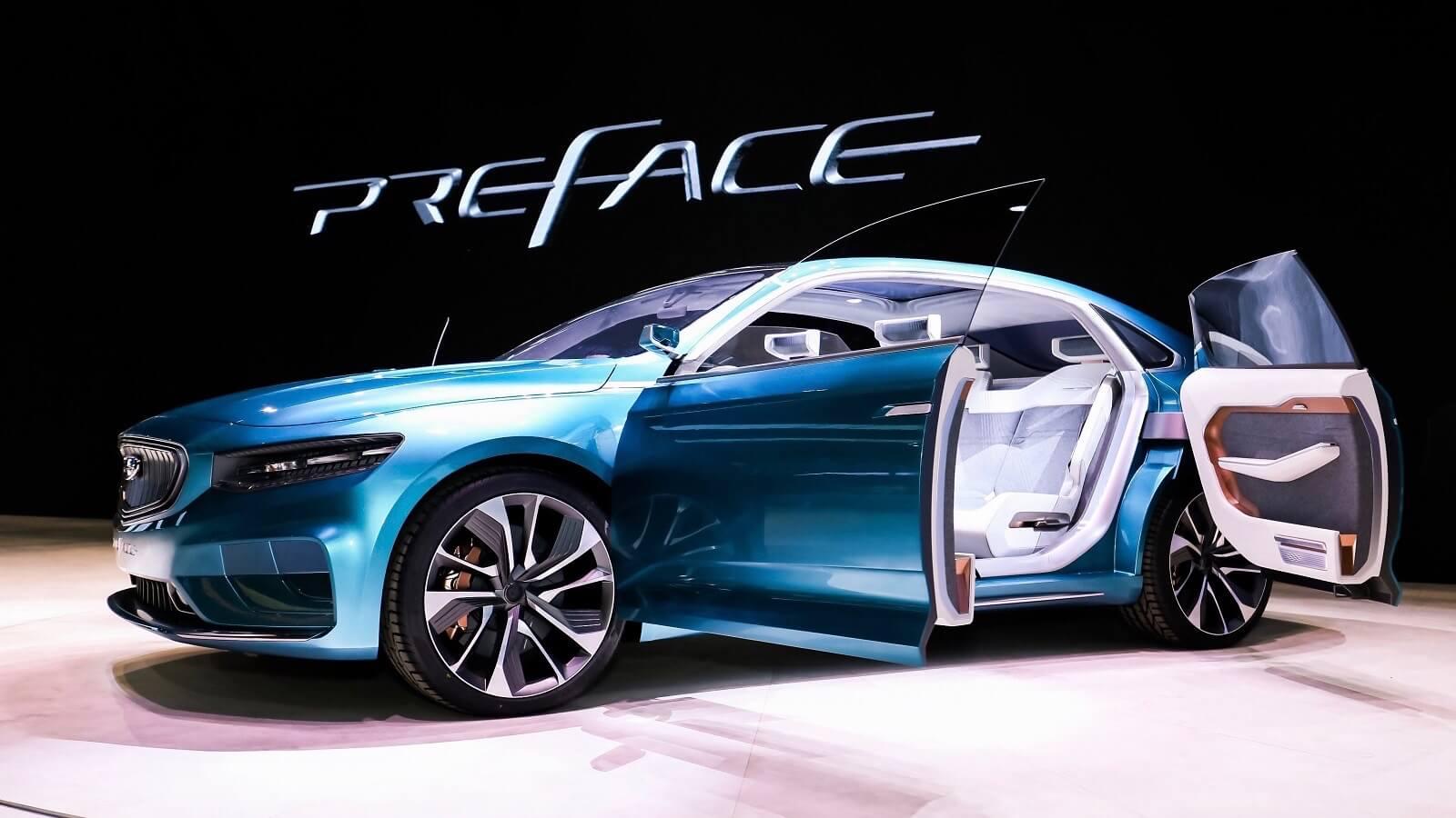 Elektrische Geely auto