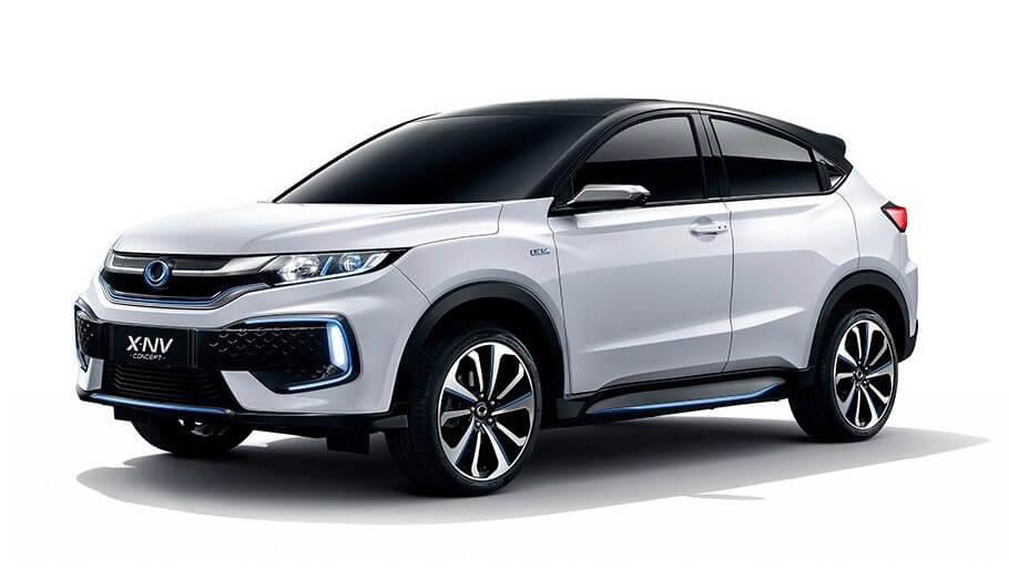 Elektrische Honda HR-V SUV