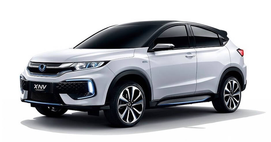 Elektrische Honda SUV X-NV