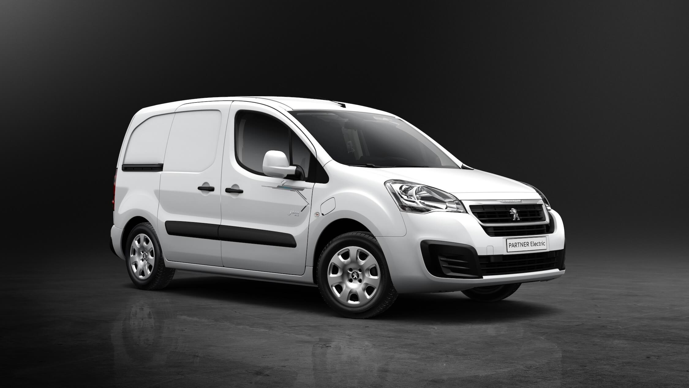 Elektrische Peugeot Partner bestelwagen