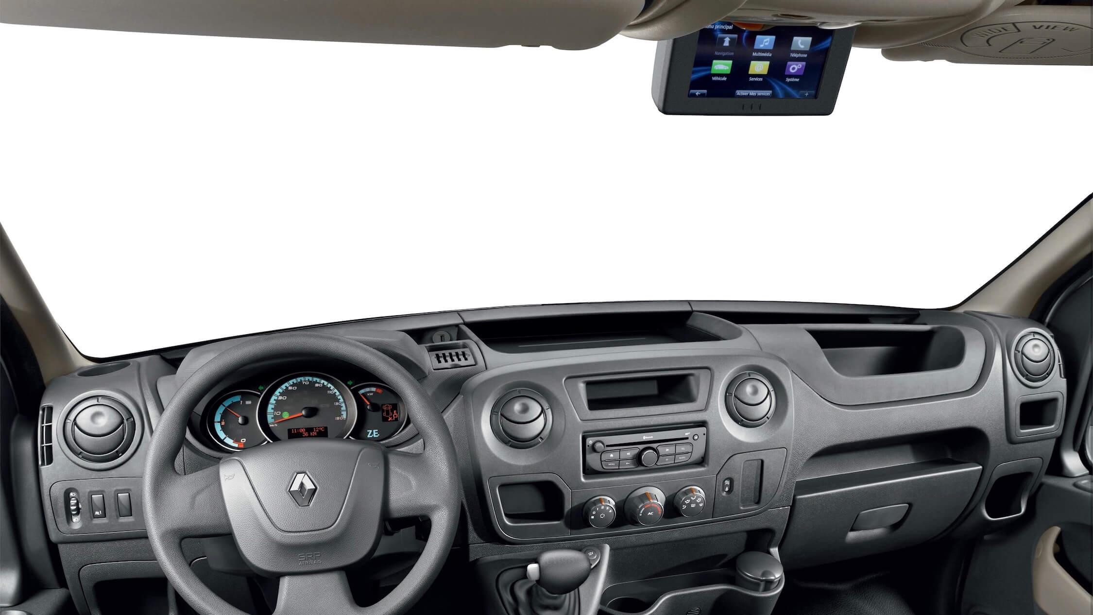 Elektrische Renault Master ZE interieur