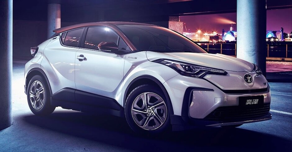 Elektrische Toyota C-HR