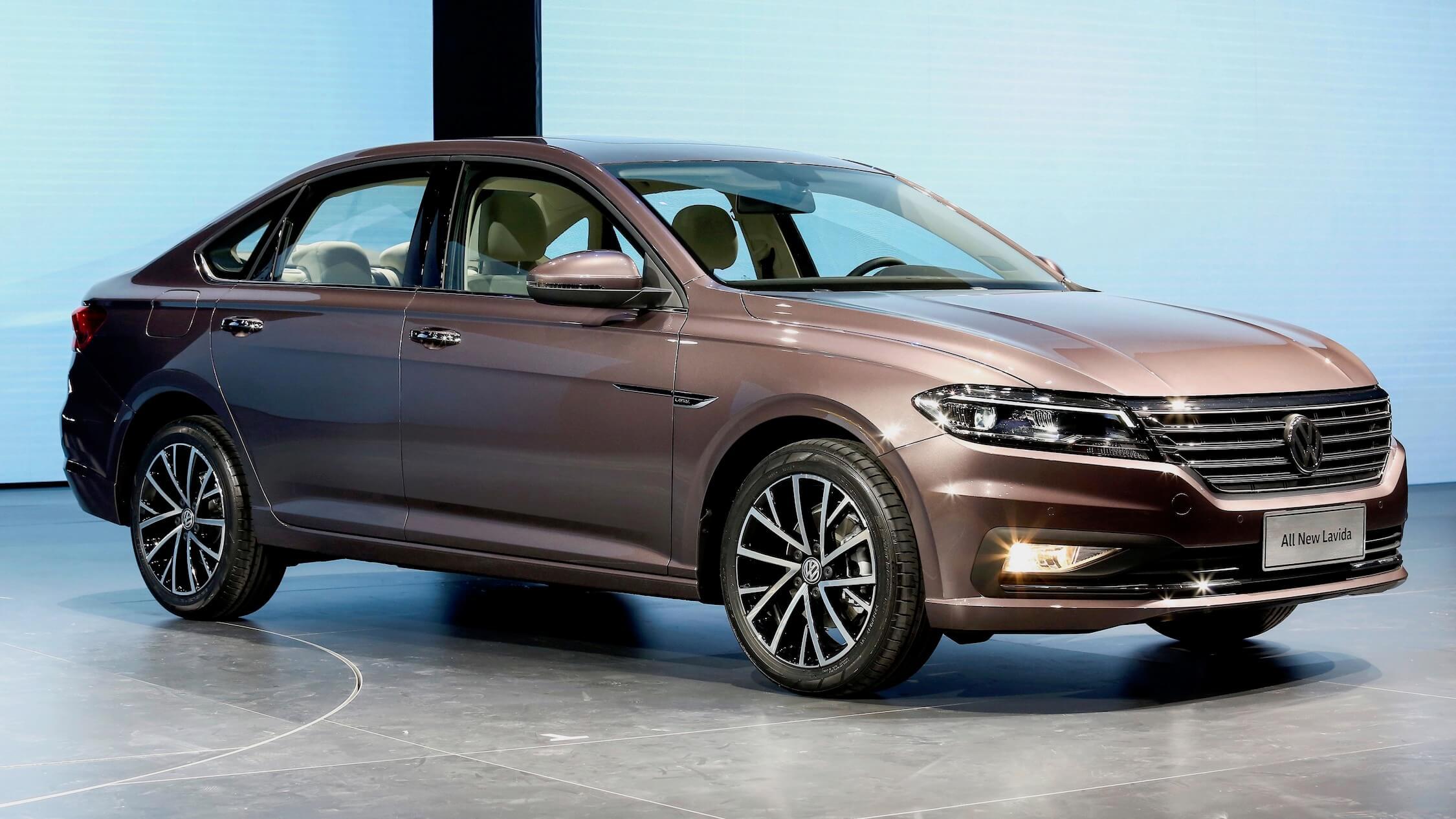 Elektrische Volkswagen Lavida China