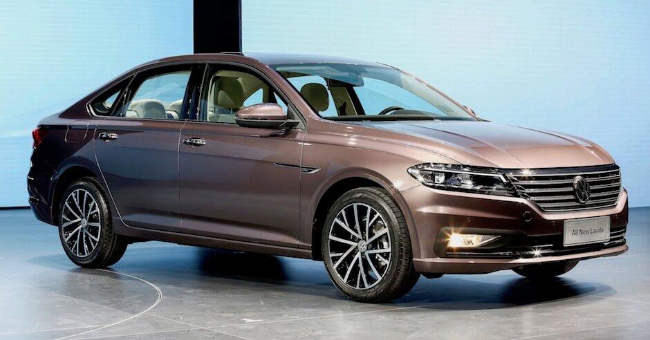 Elektrische Volkswagen e-Lavida