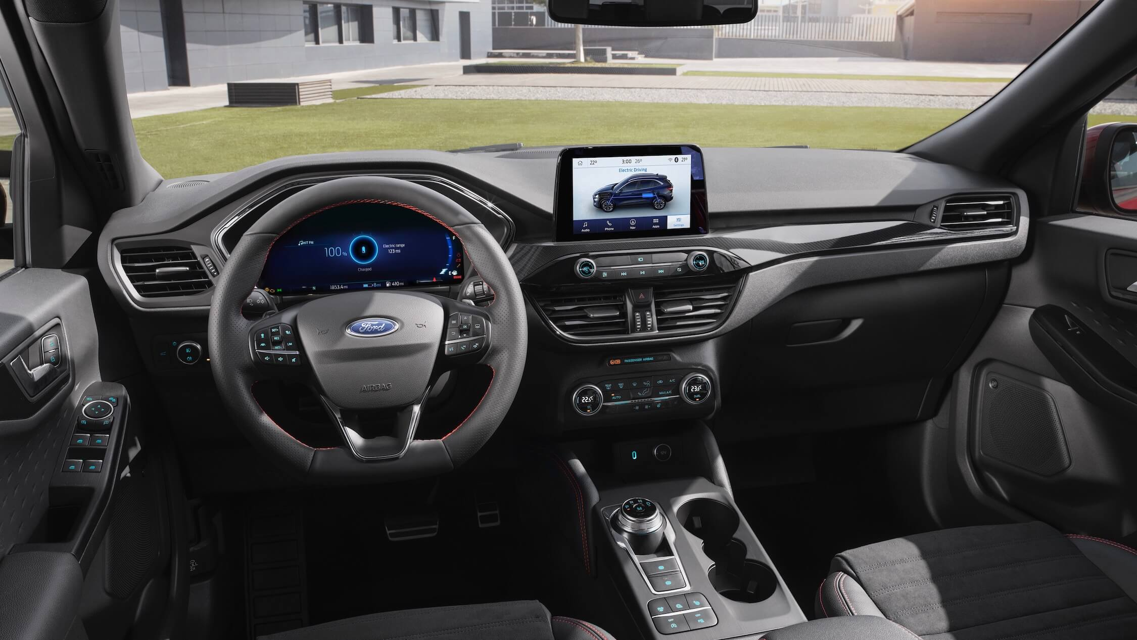 Ford Kuga hybride interieur