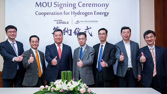 Hyundai Hydrogen fund China