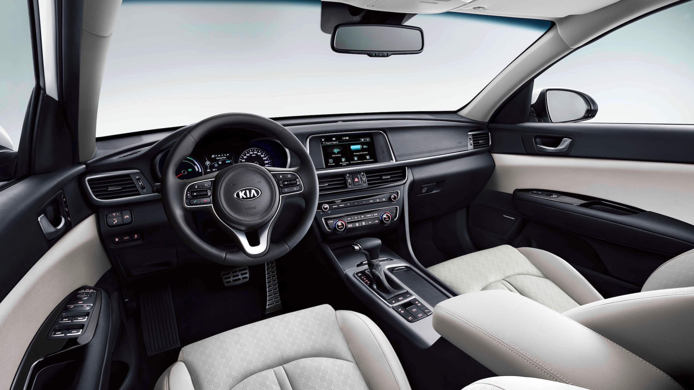 Kia Optima PHEV interieur