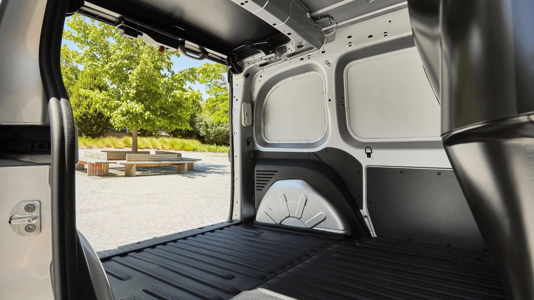 Koffer elektrische Renault bestelwagen