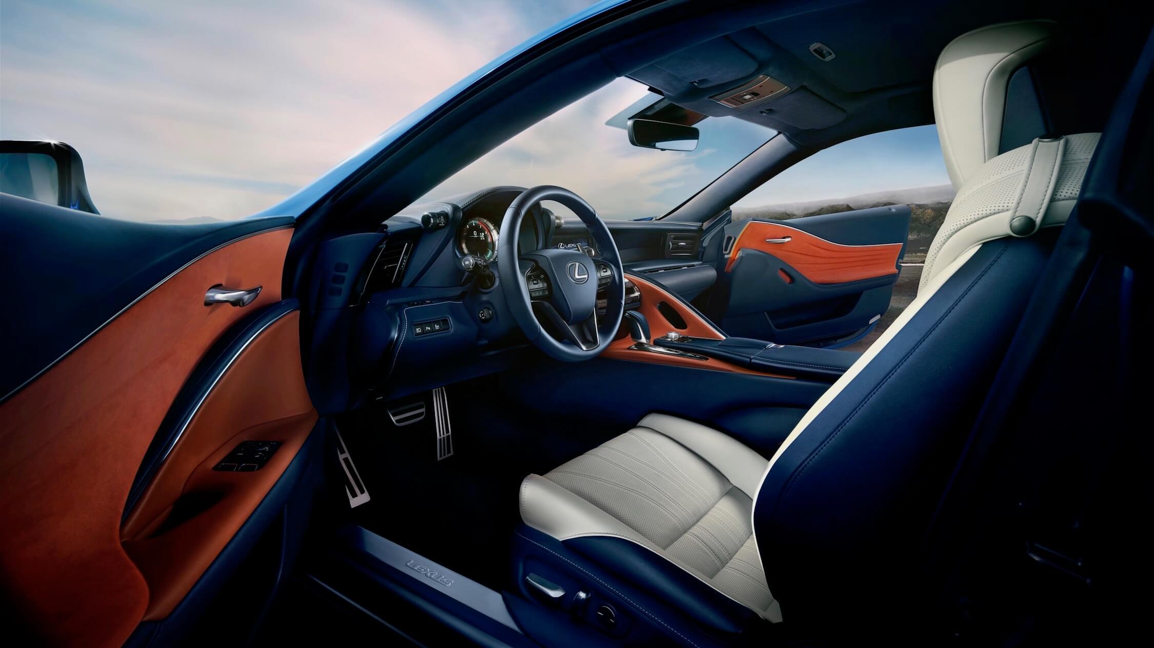 Lexus LC 500h interieur