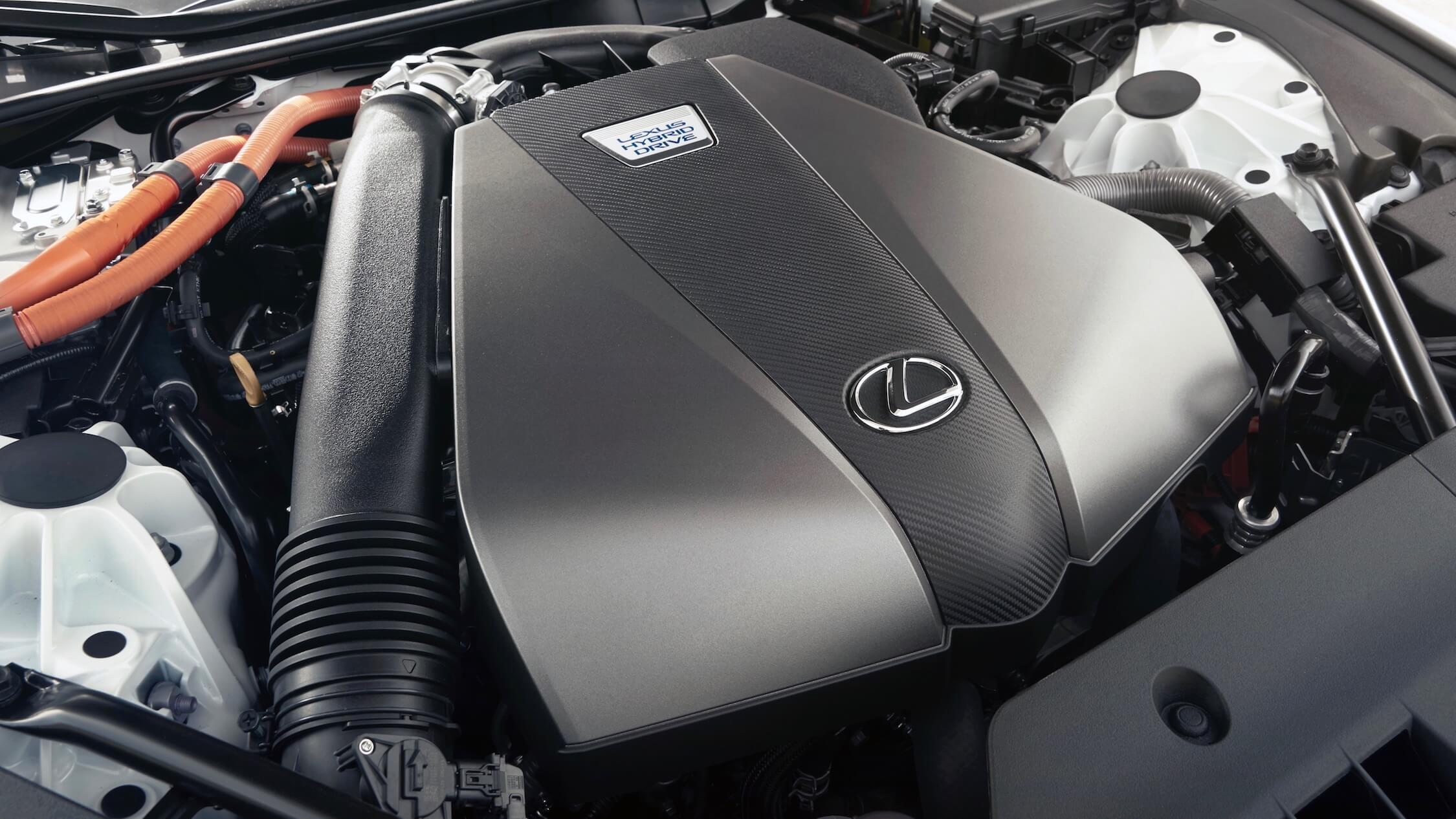 Lexus LC 500h motor