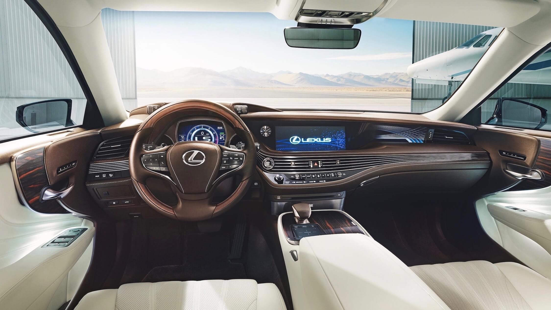 Lexus LS 500h interieur