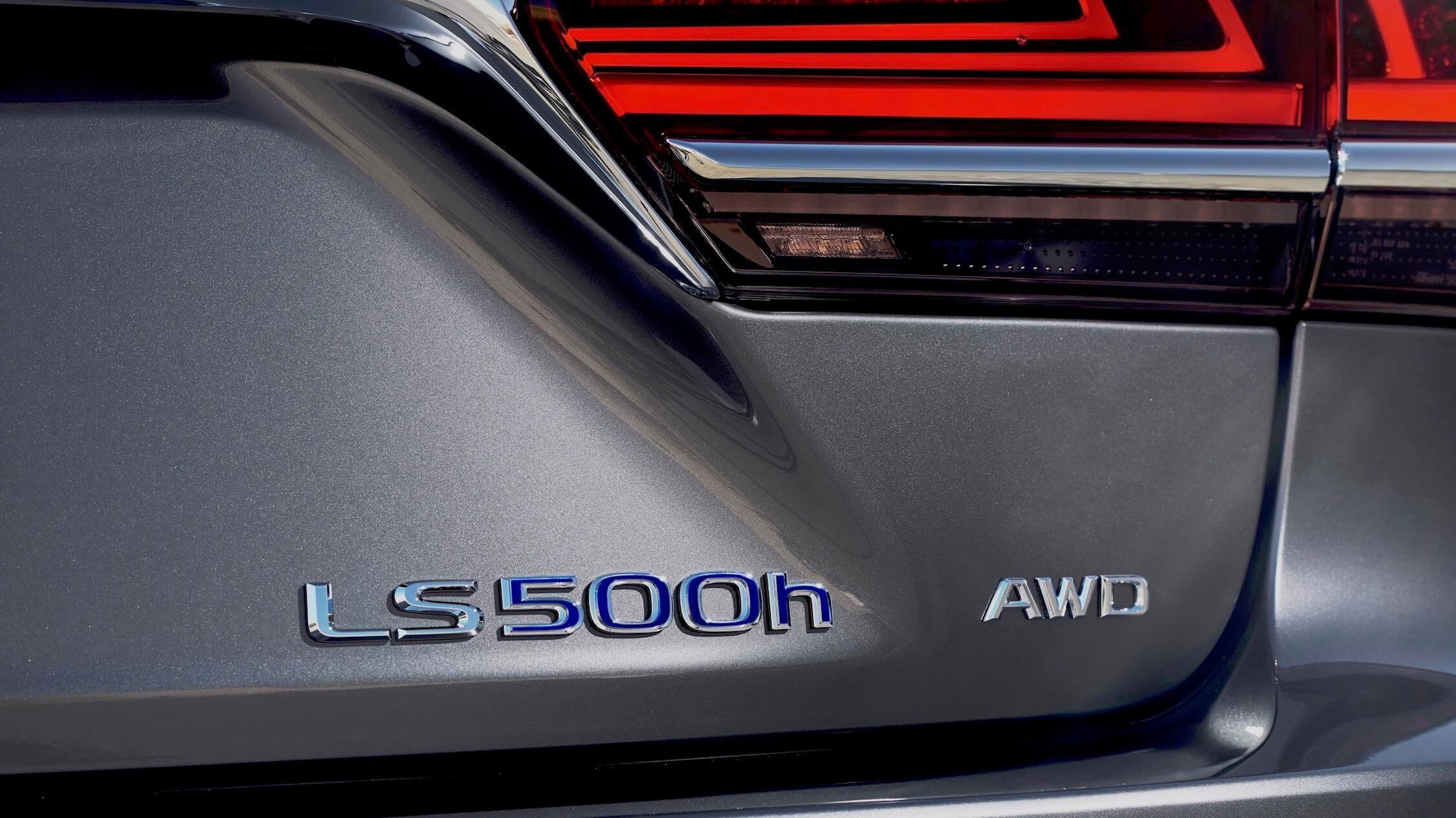Lexus LS 500h logo