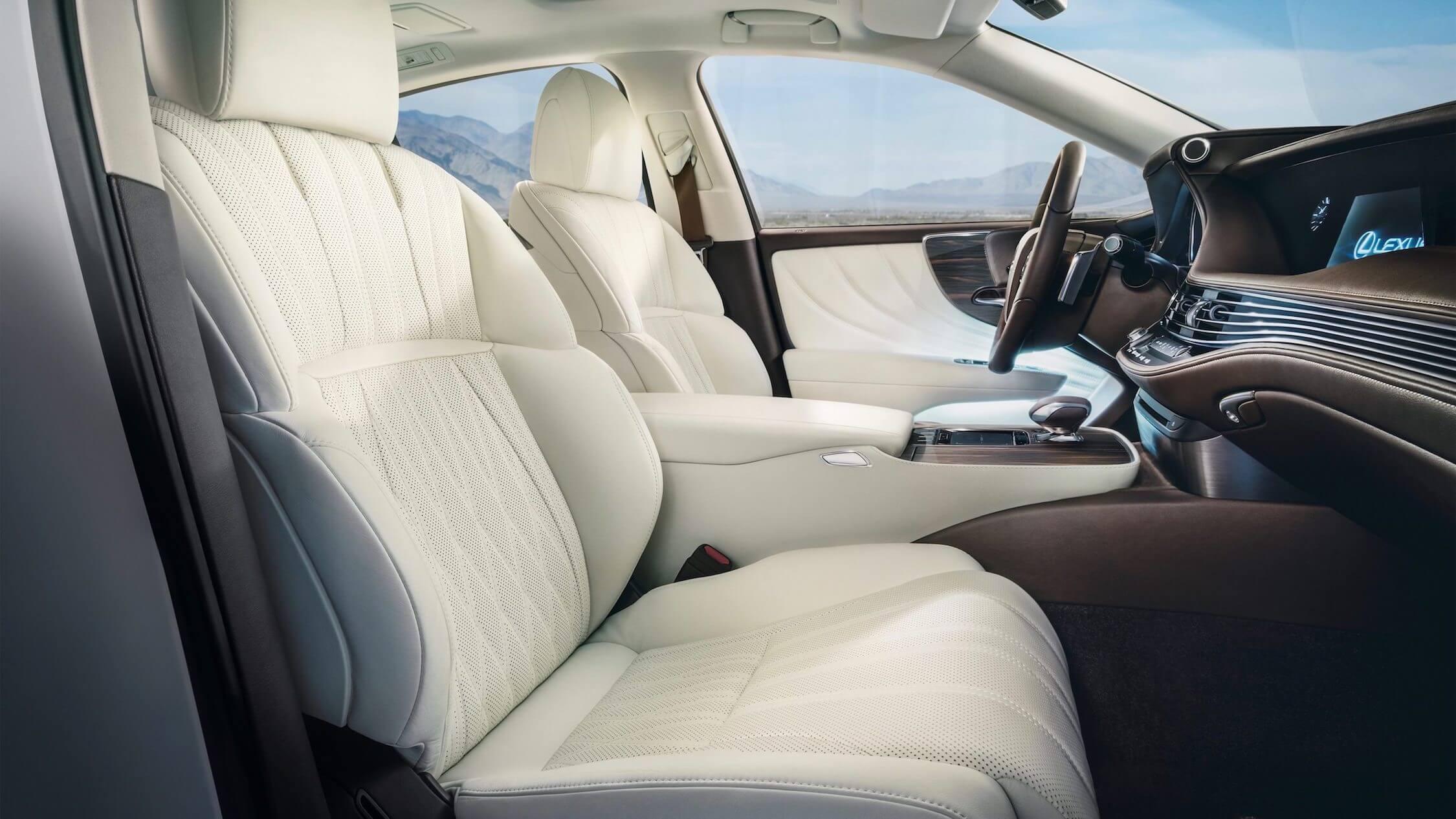 Lexus LS 500h zetels