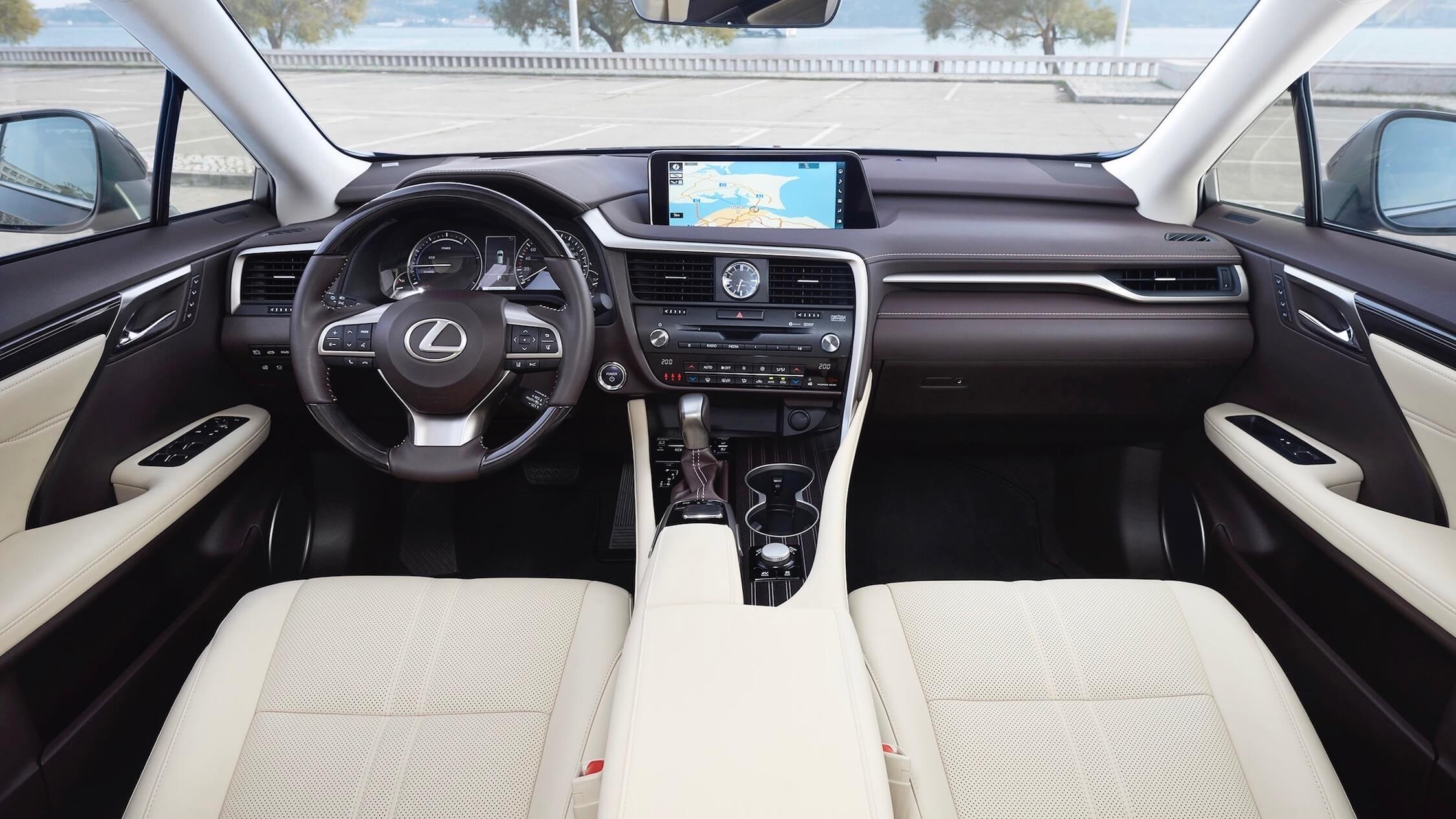 Lexus RX 450h interieur