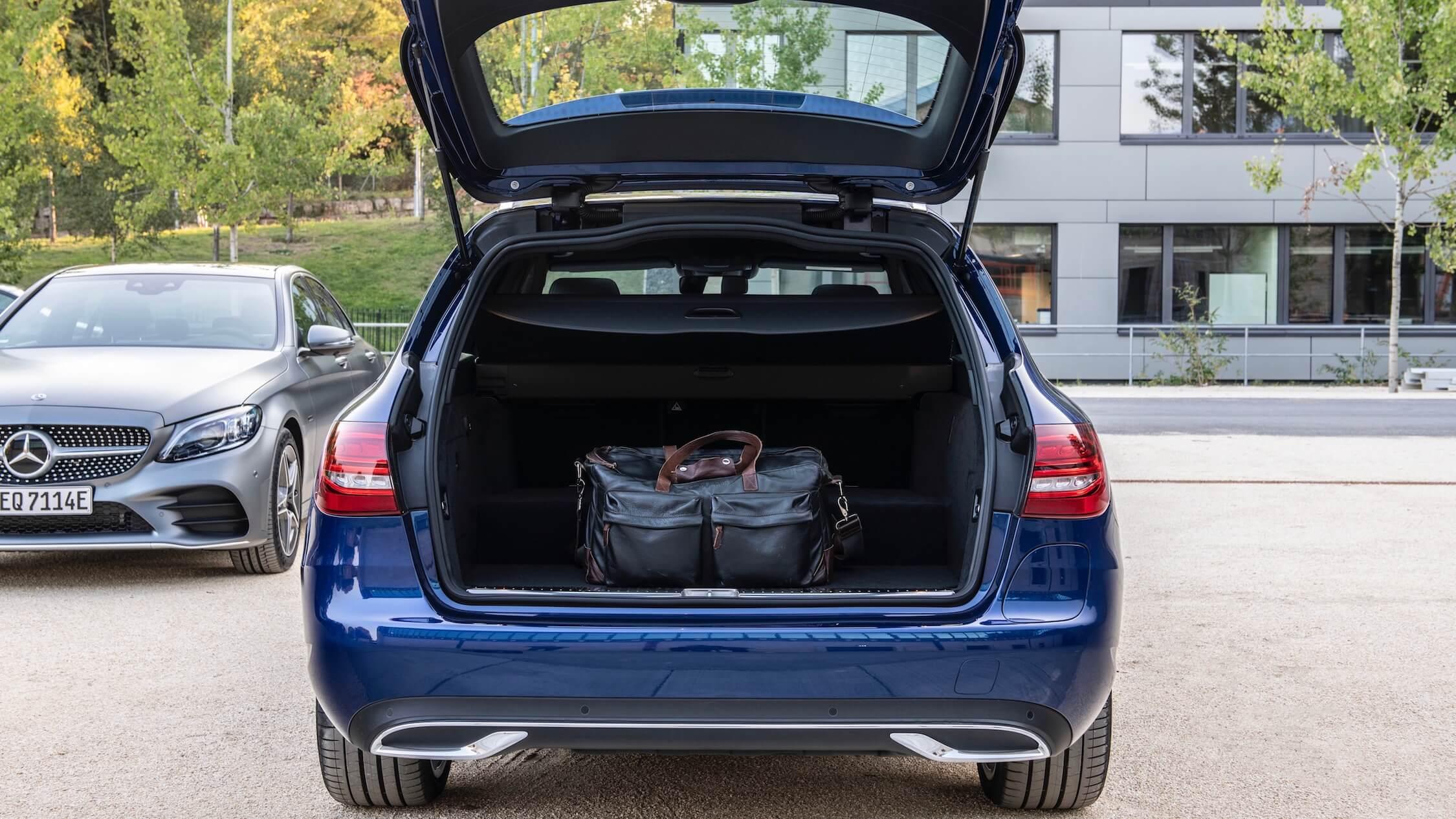 Mercedes C break hybride koffer