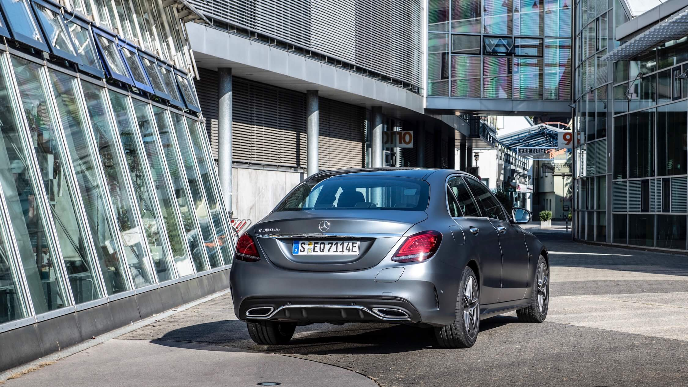 Mercedes C diesel hybride