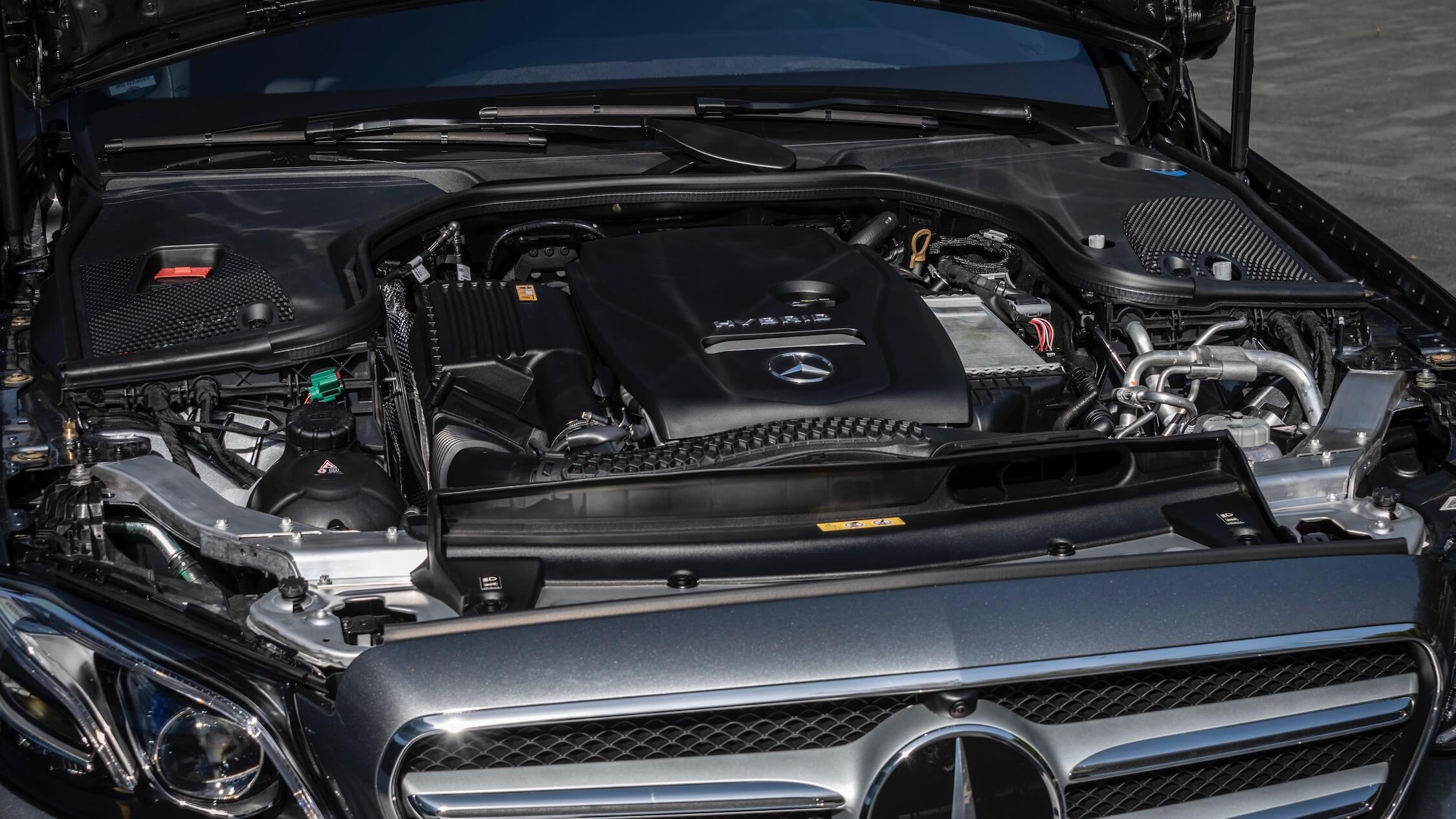 Mercedes E 300e motor