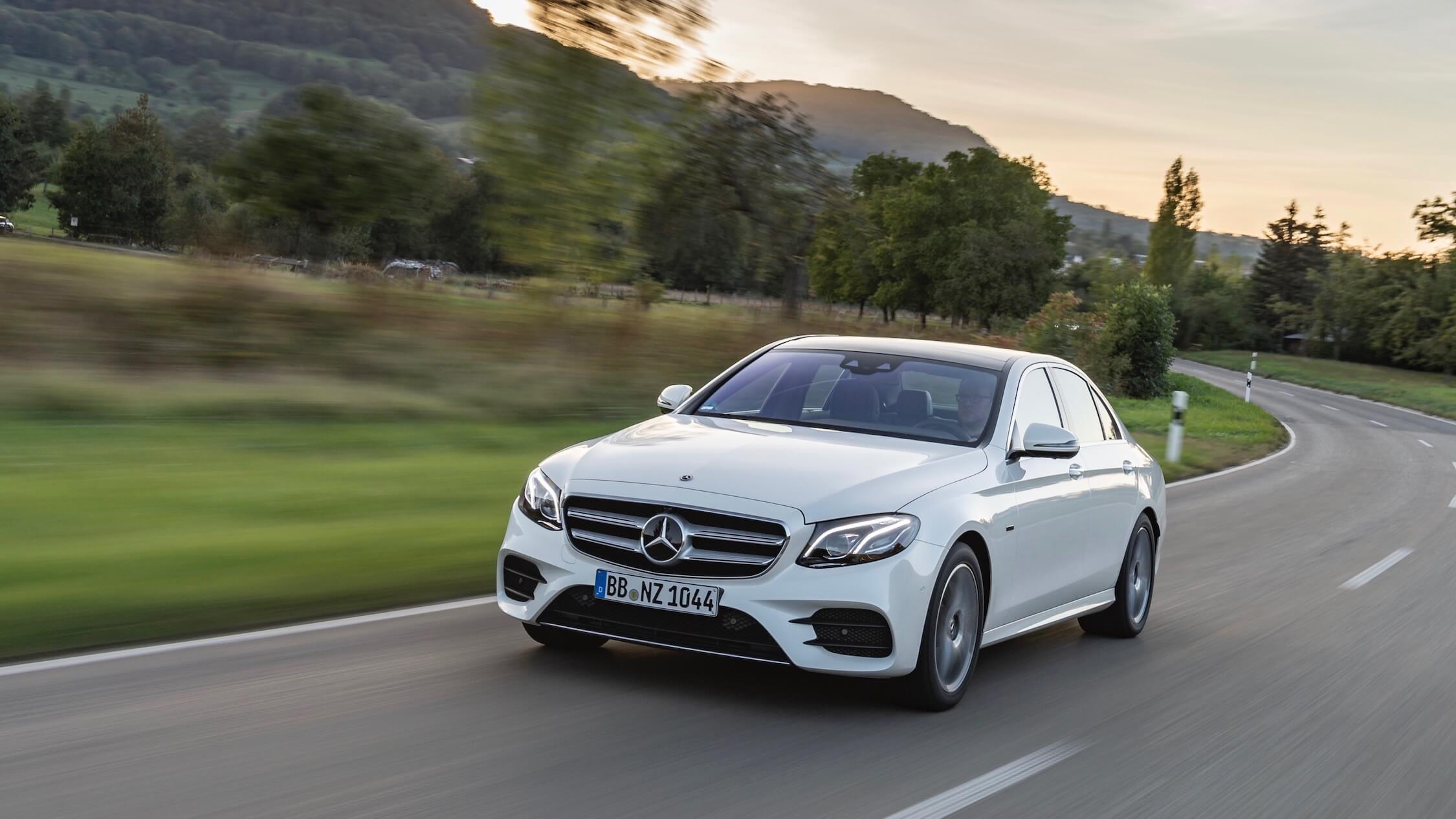 Mercedes E diesel hybrid