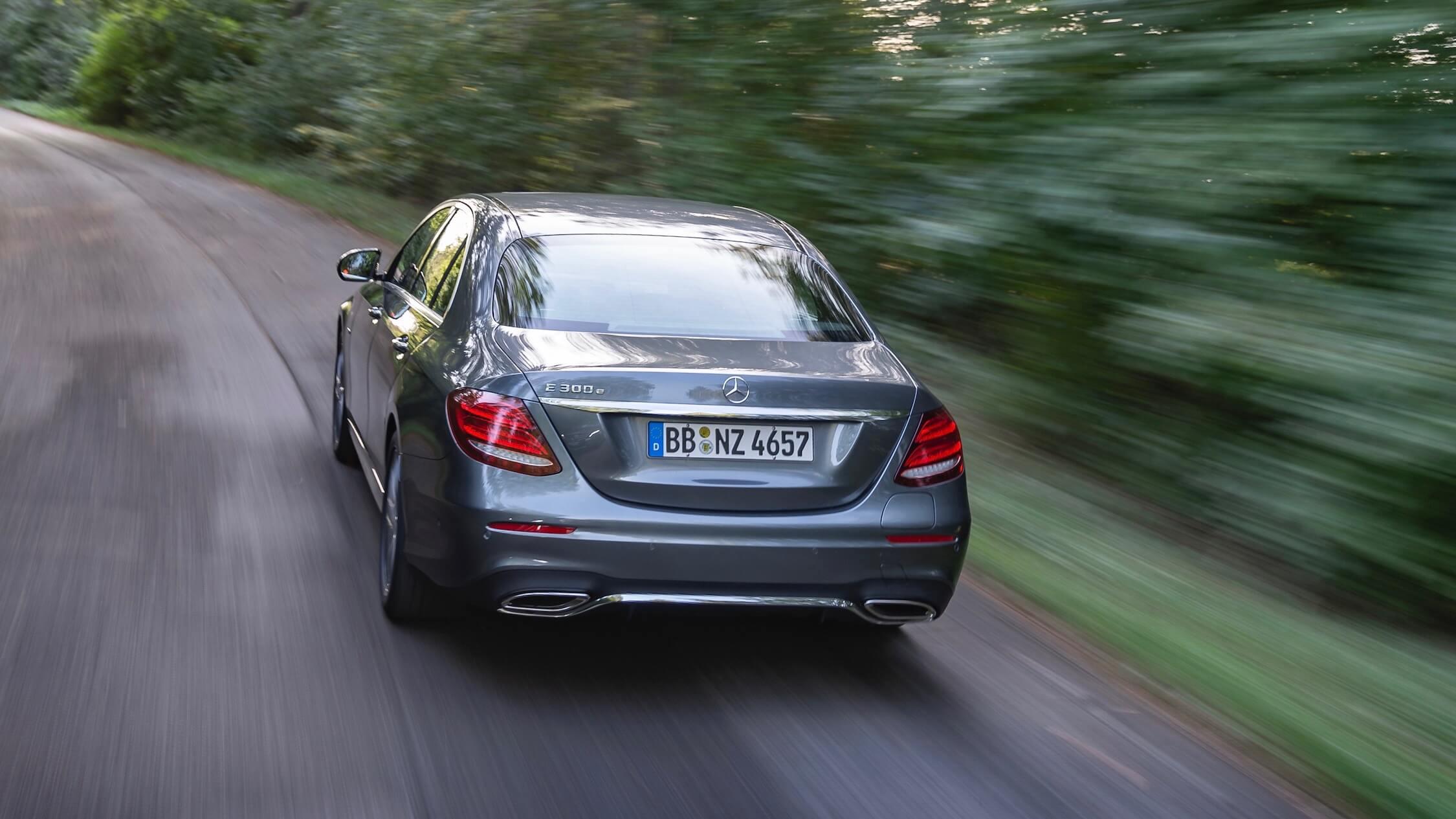 Mercedes E300e achterkant