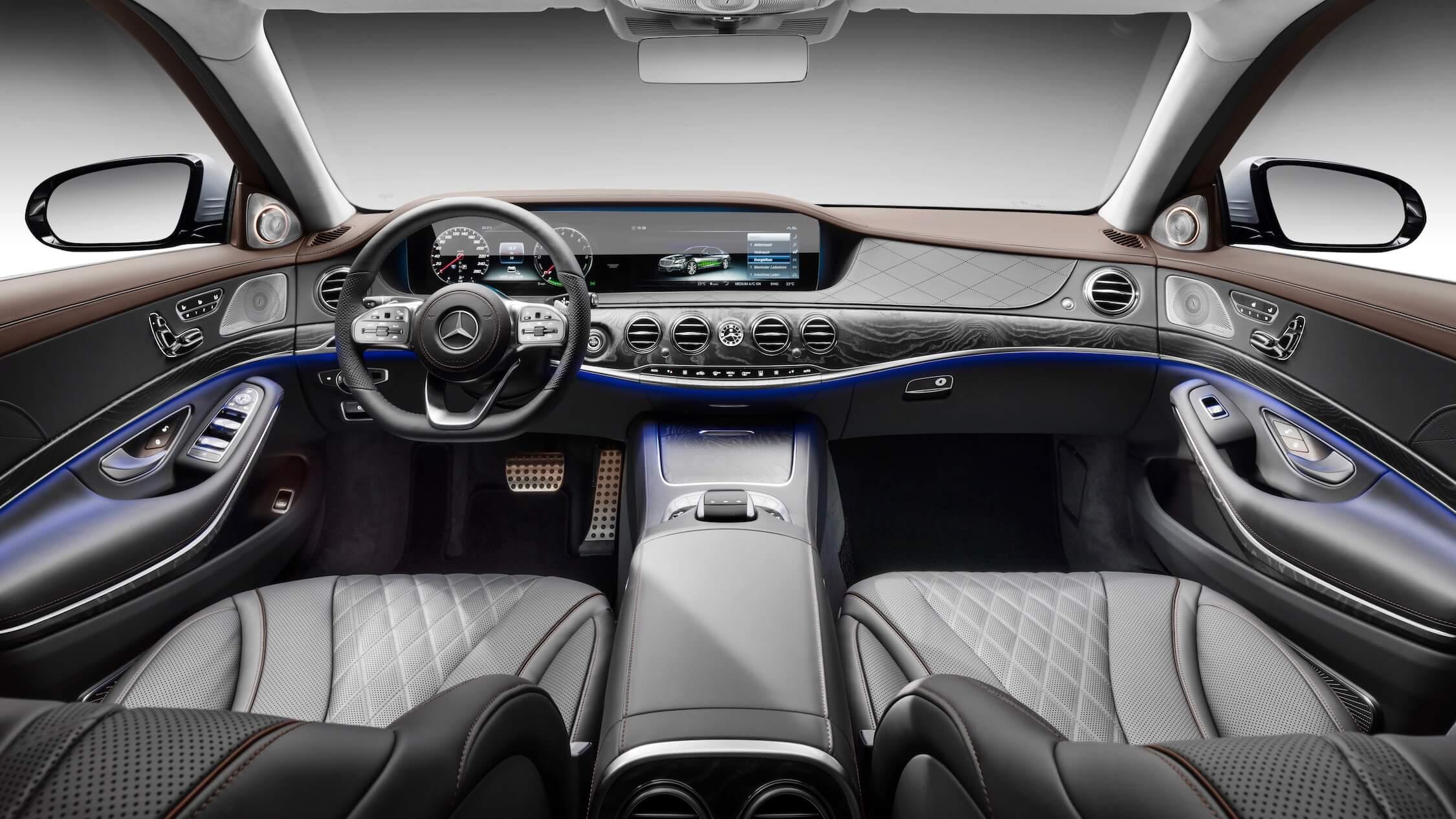 Mercedes S 560e interieur
