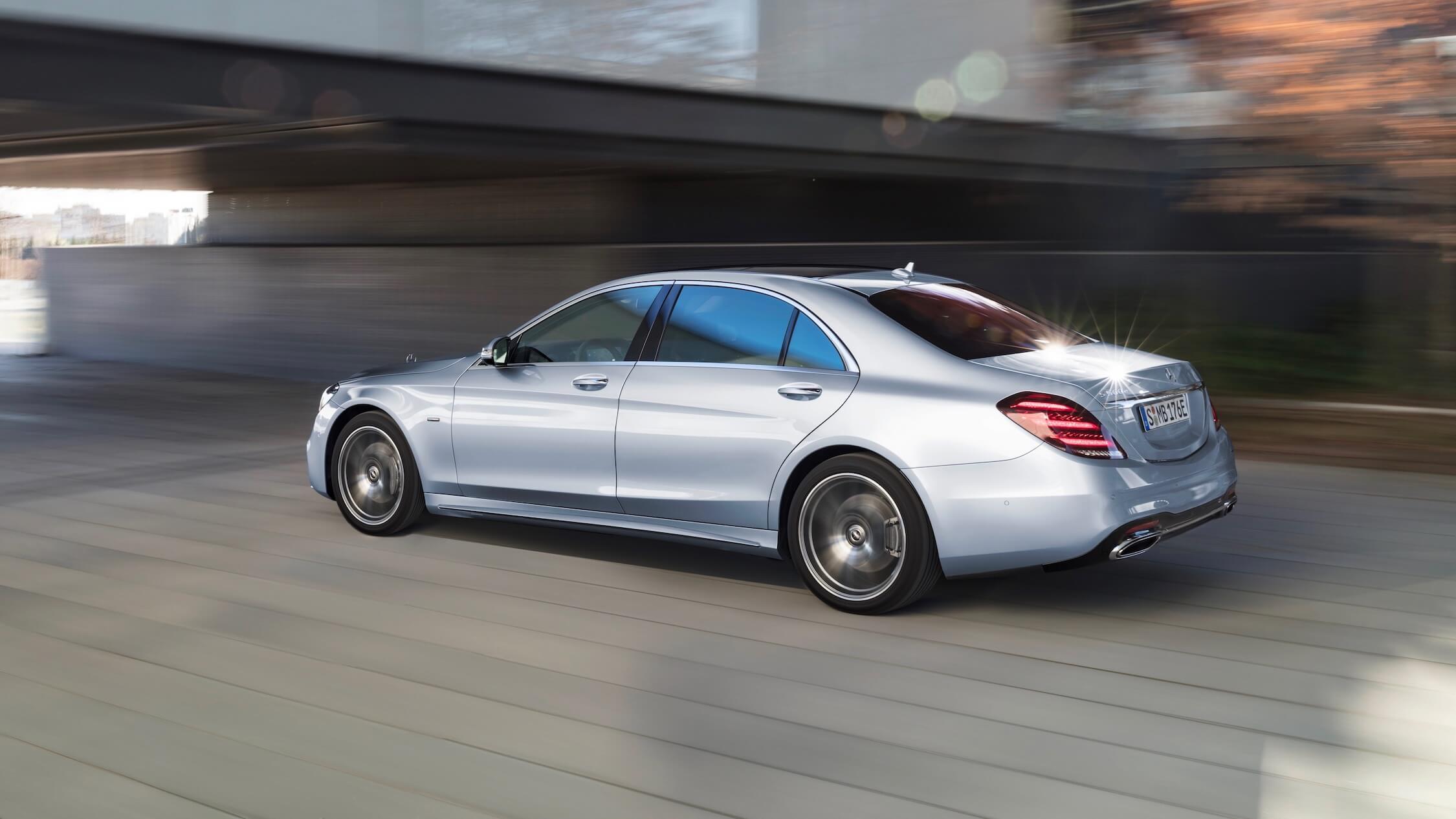 Mercedes S plug-in hybride