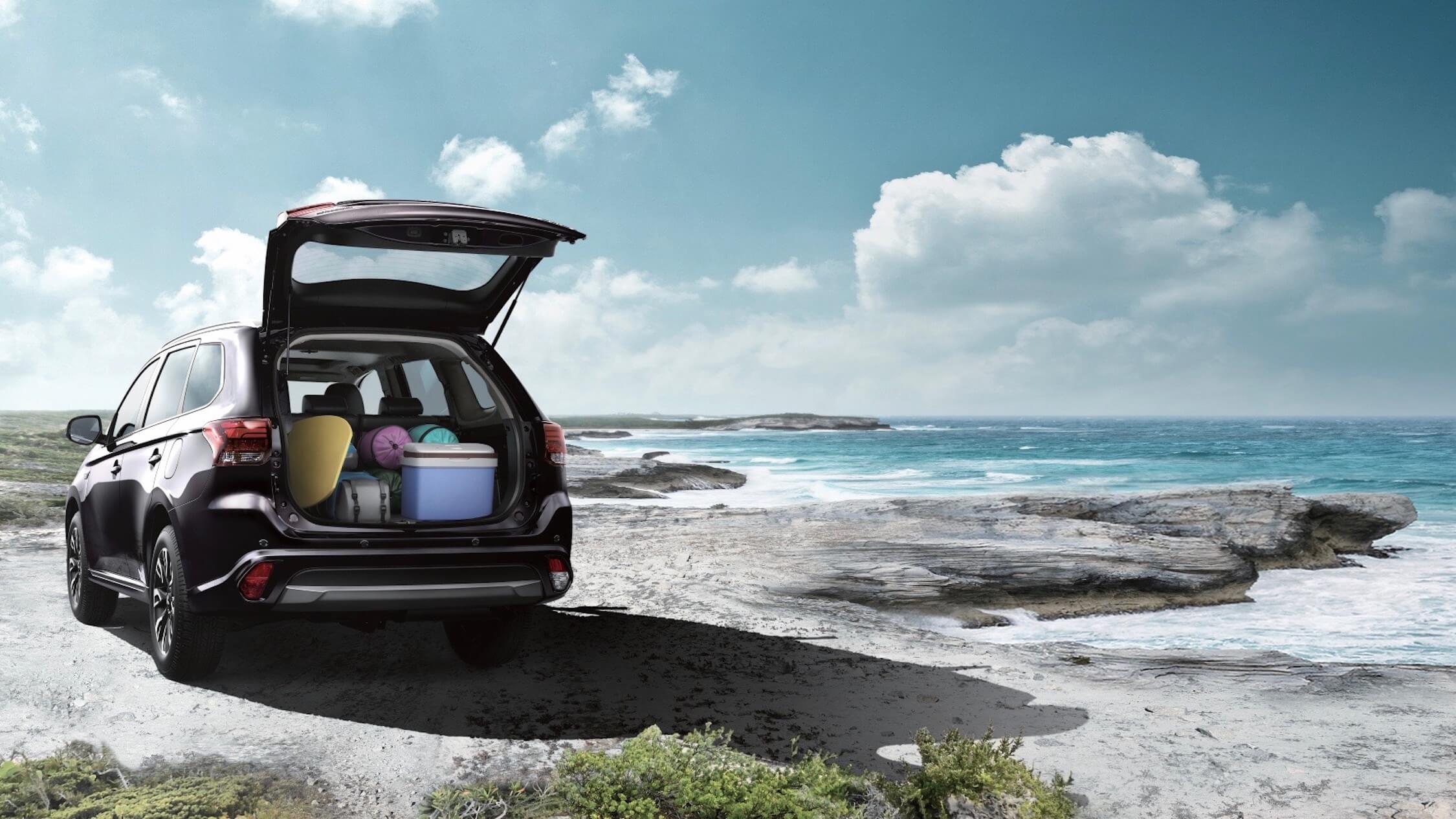 Mitsubishi Outlander PHEV koffer