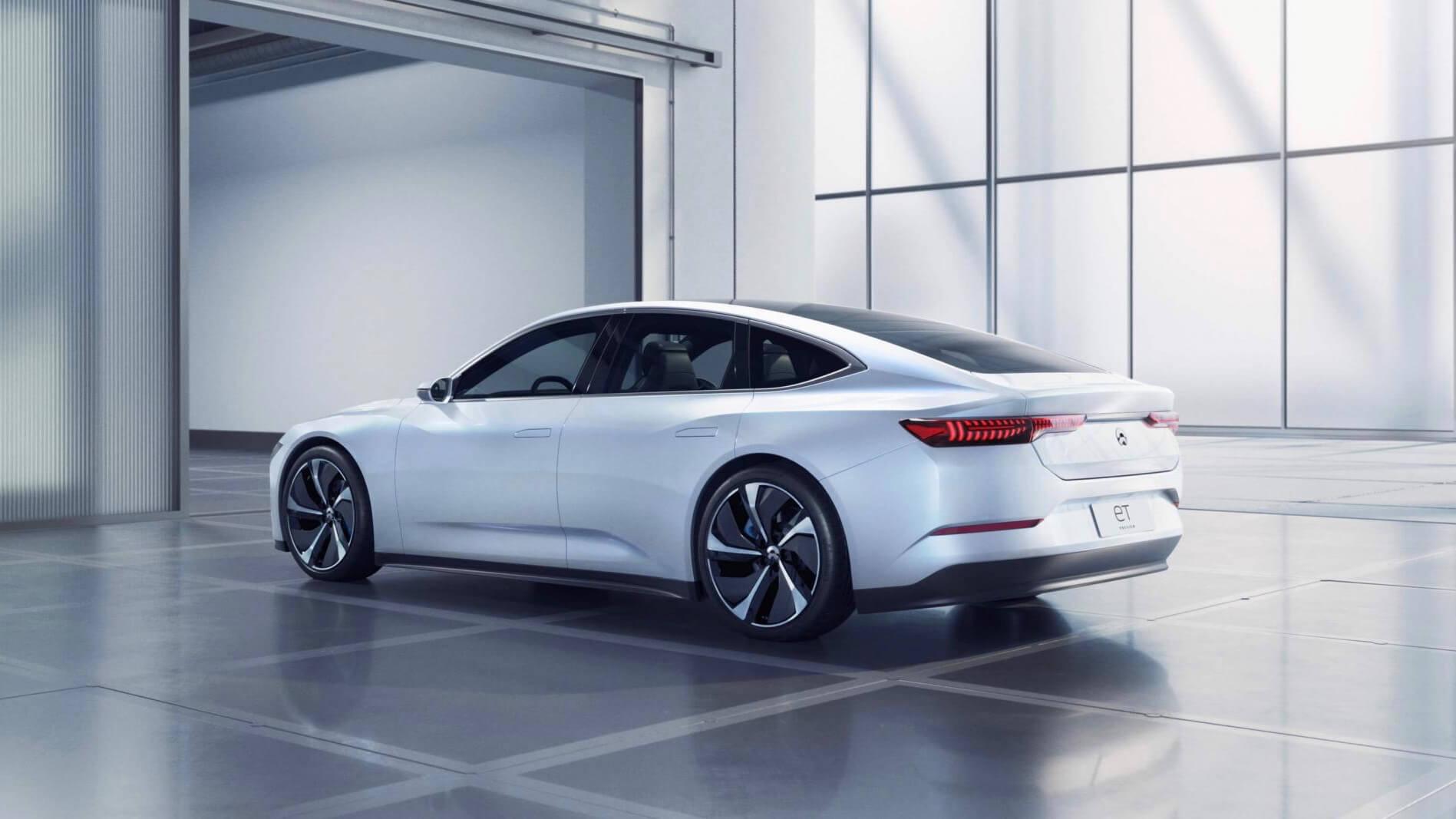 Nio ET Preview electric car