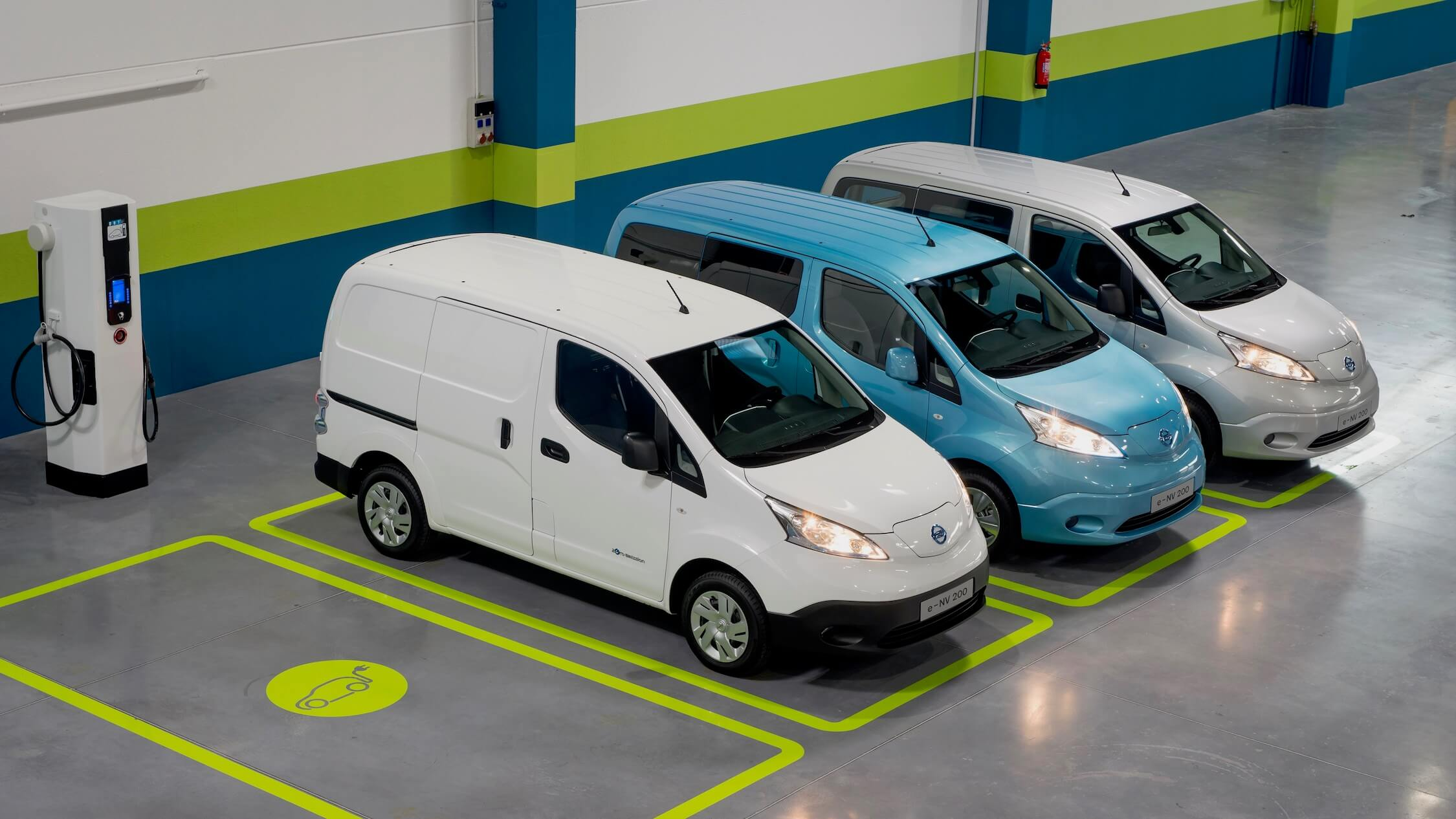 Nissan elektrische bestelwagens