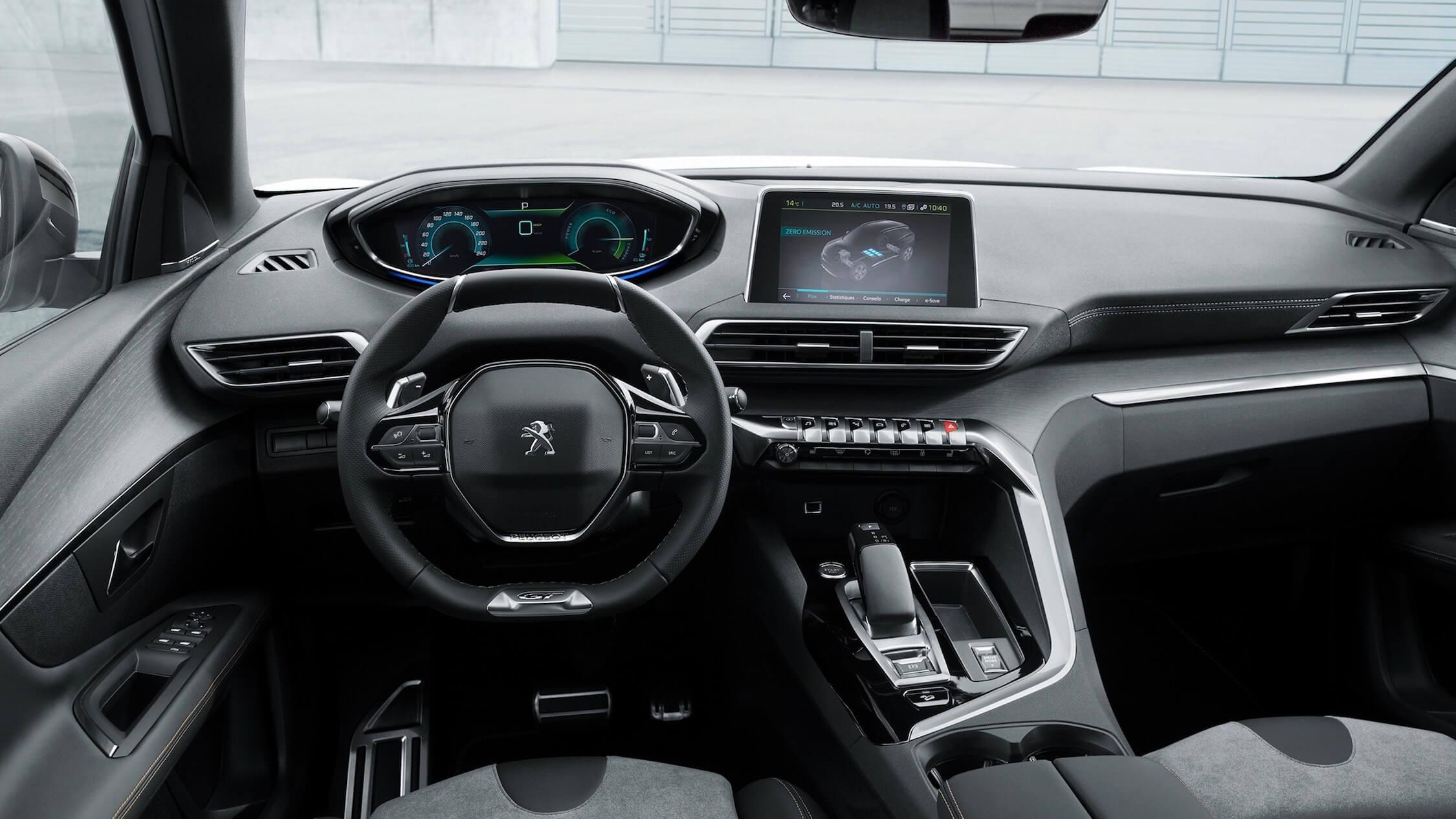 Peugeot 3008 hybride interieur