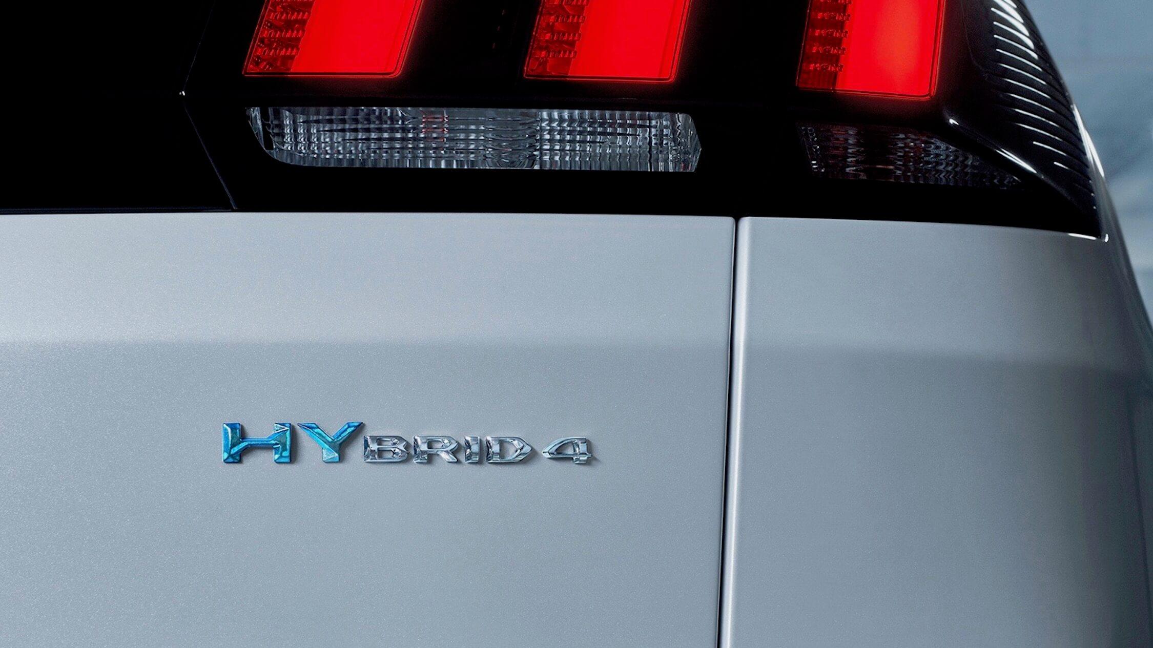 Peugeot 3008 hybride logo