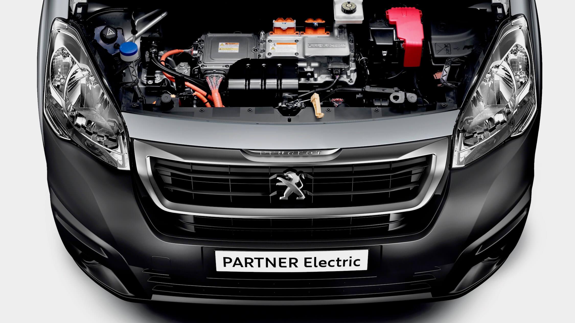 Peugeot Partner Electric motor