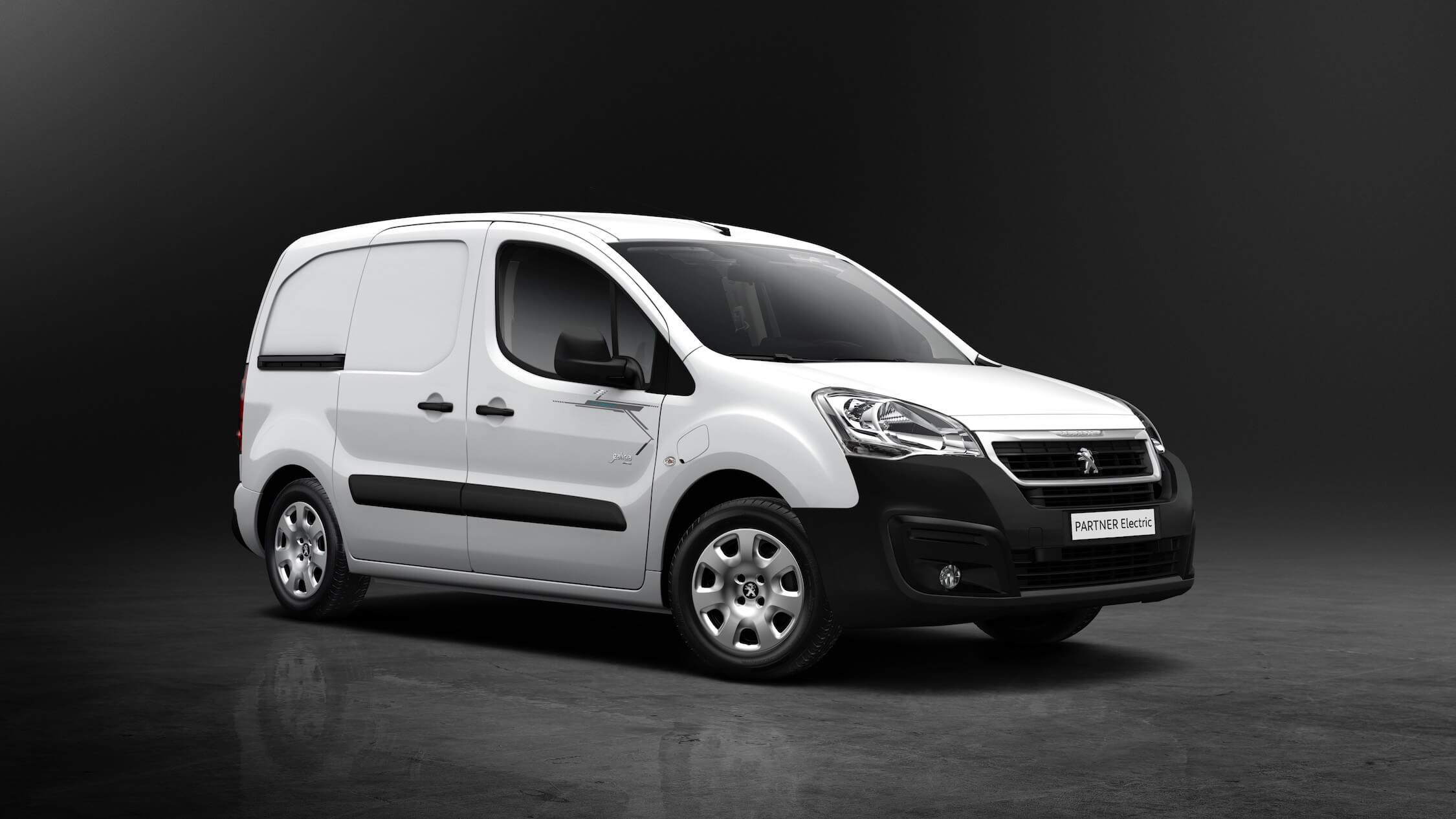 Peugeot Partner elektrisch