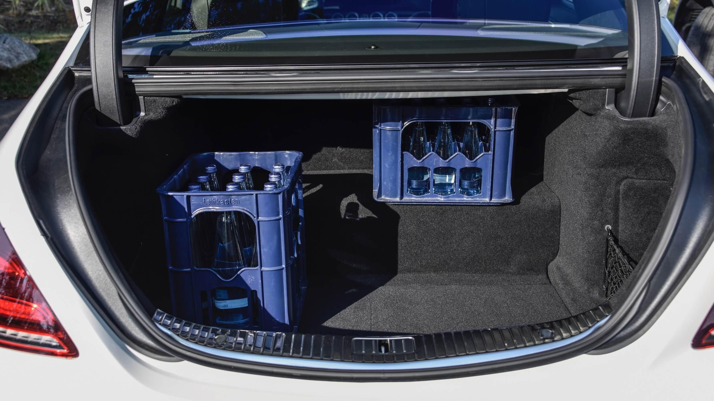 Plug in hybride Mercedes S 560e koffer