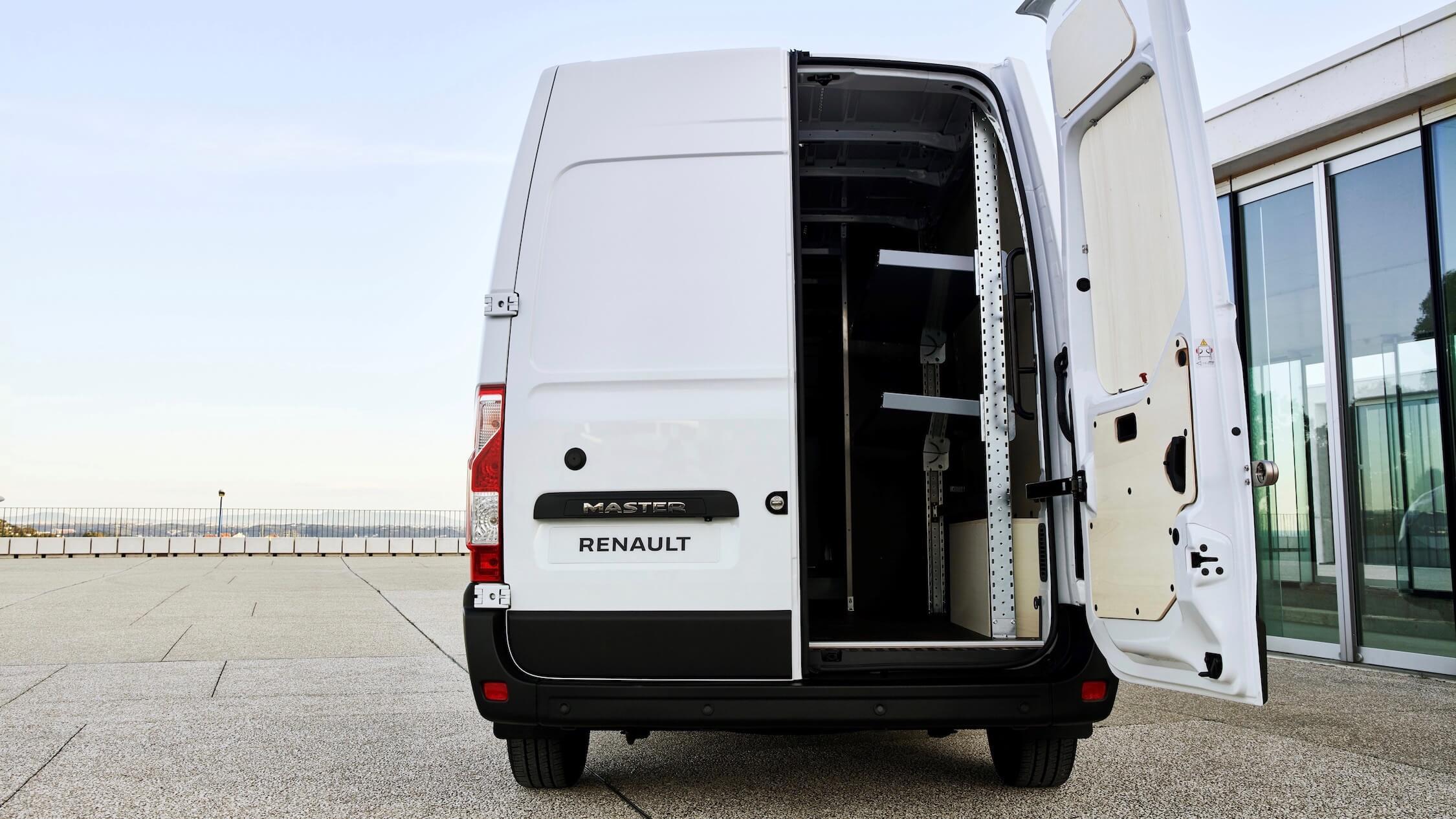 Renault Master ZE achterkant
