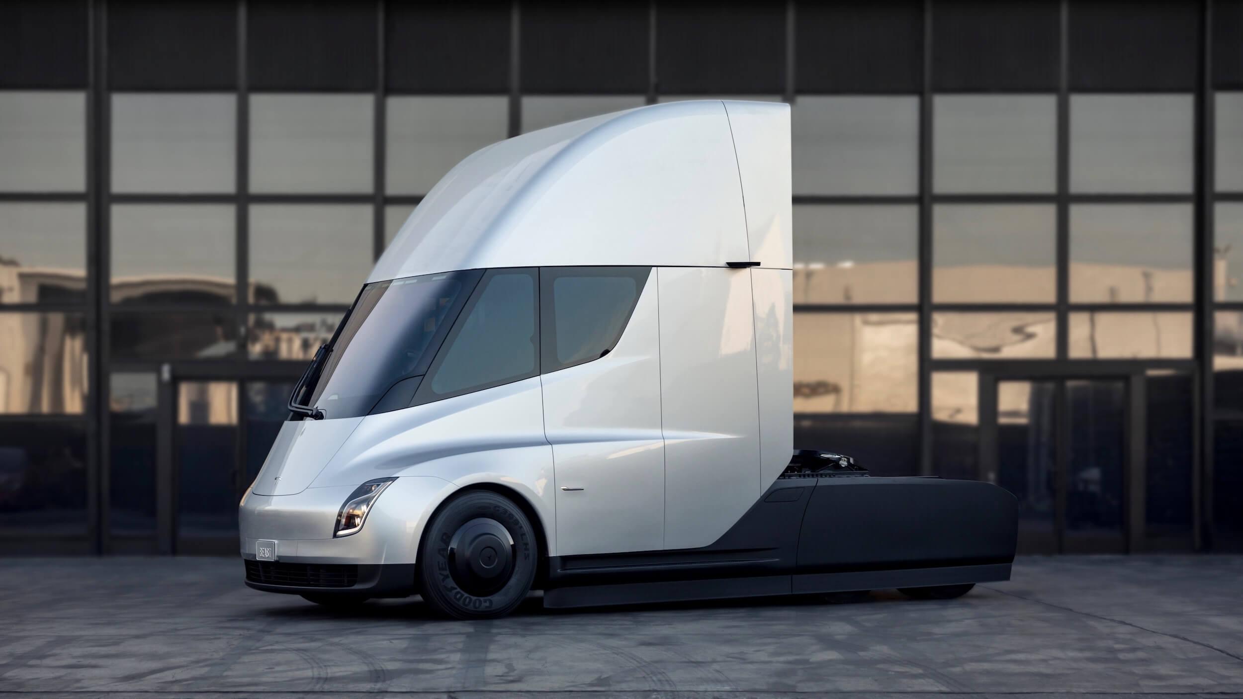 Tesla Semi trekker